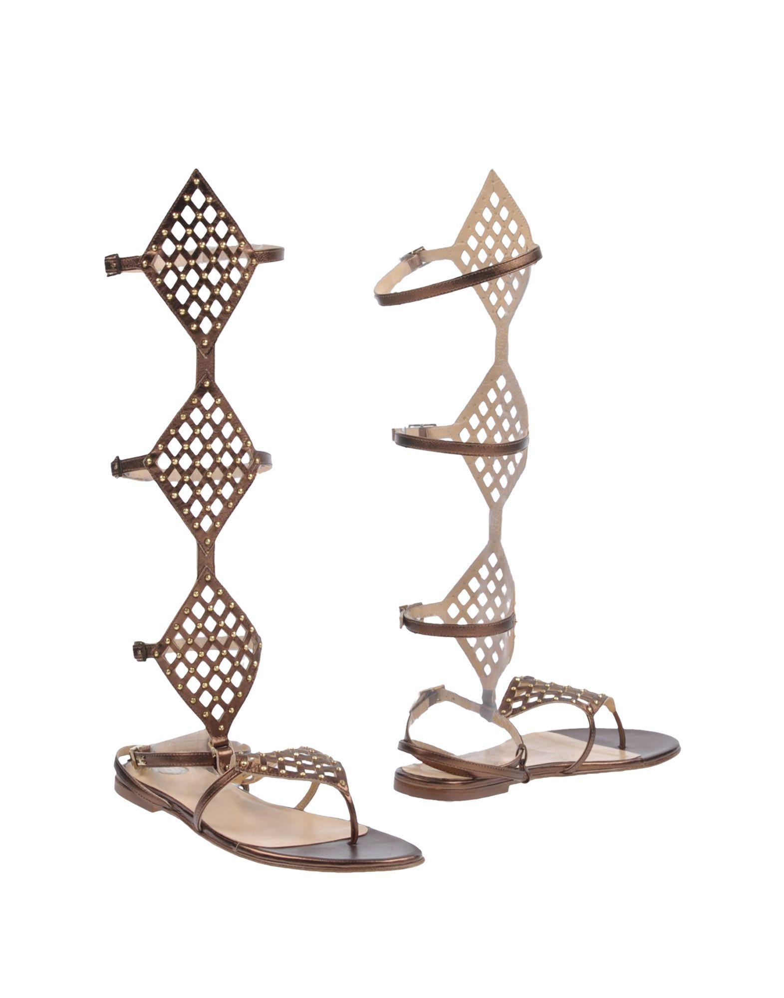 Rabatt Schuhe Elisabetta Franchi Dianetten Damen  11420050RK