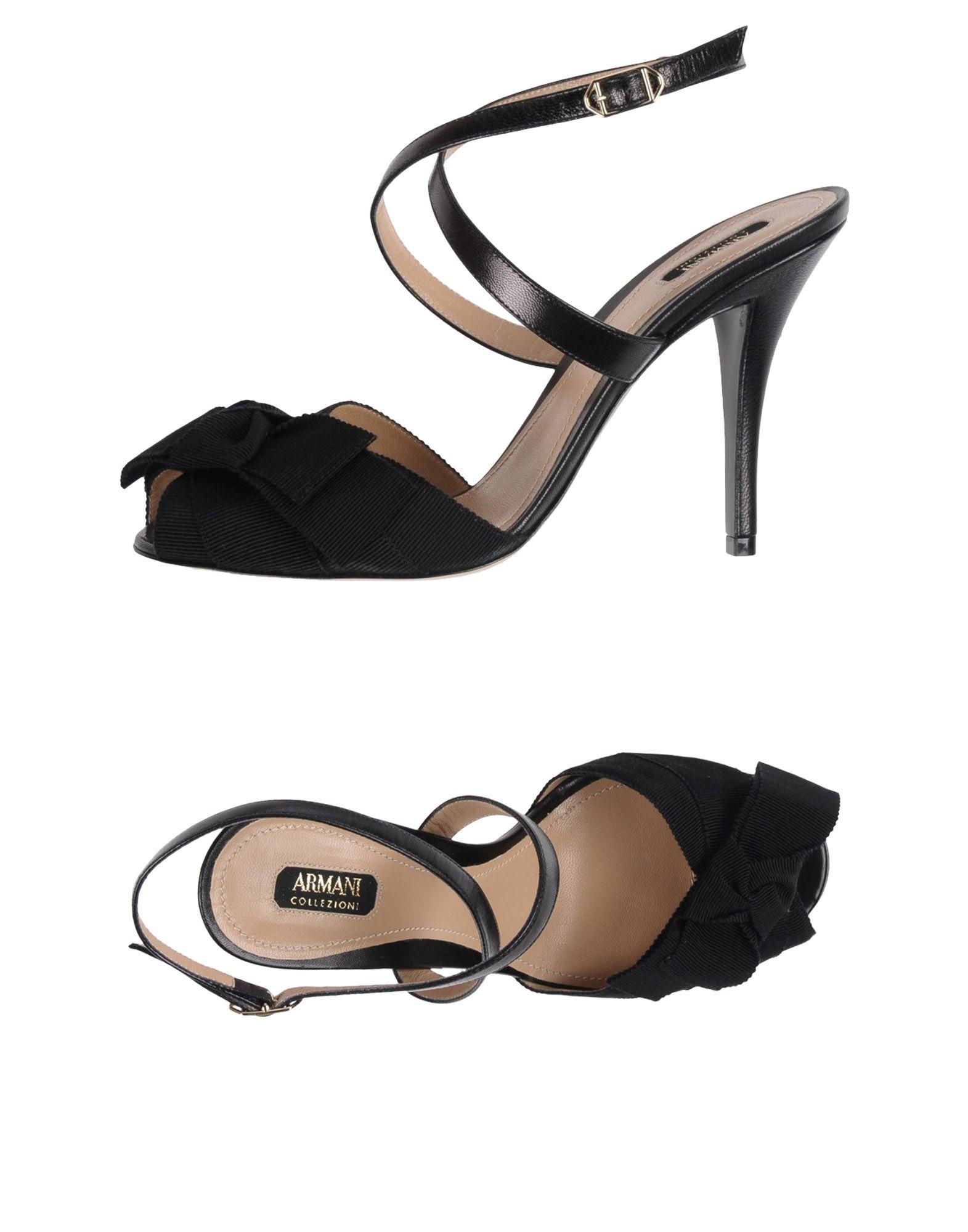 Sandales Armani Collezioni Femme - Sandales Armani Collezioni sur