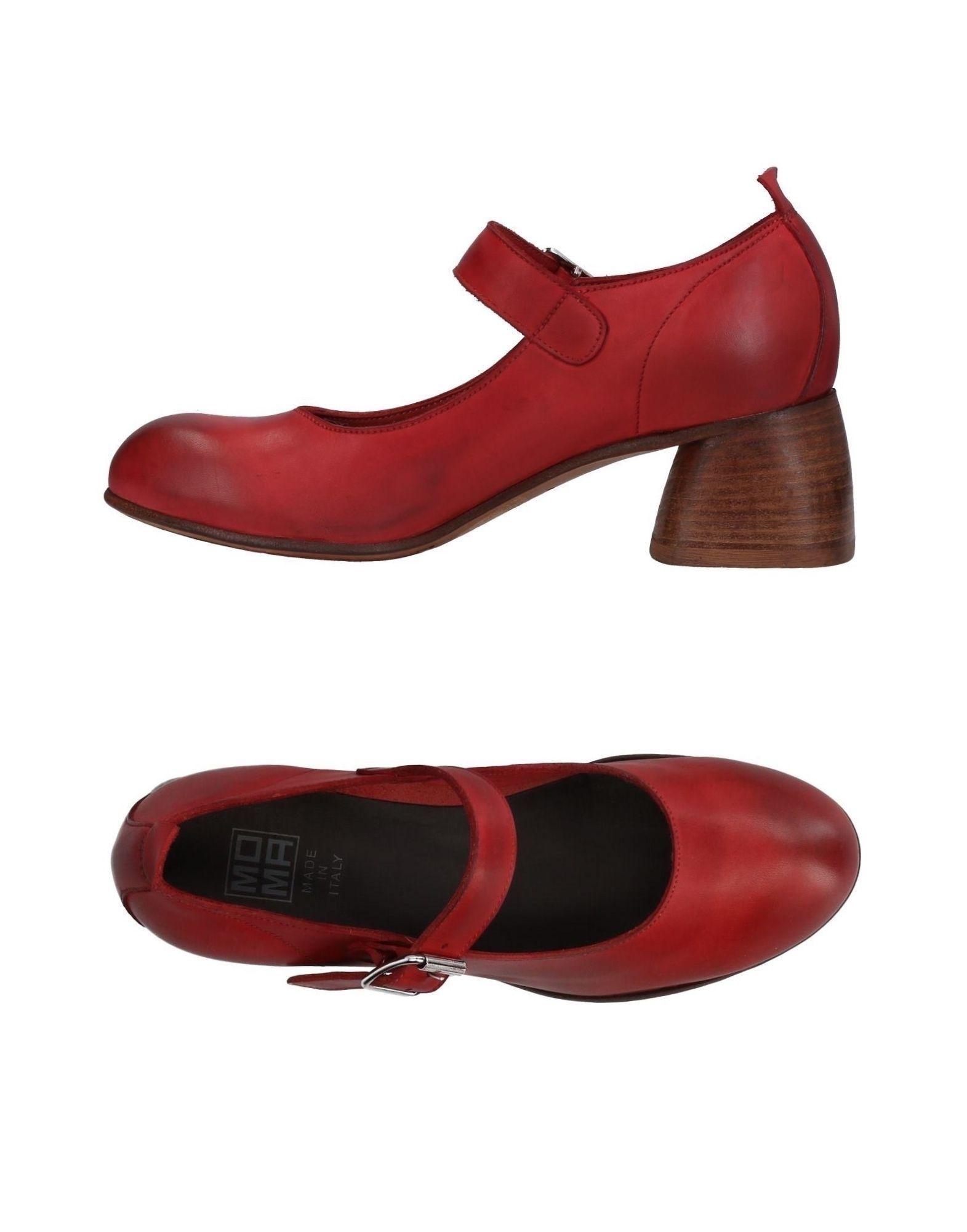 Moma Pumps Damen  11420428XJGut aussehende strapazierfähige Schuhe