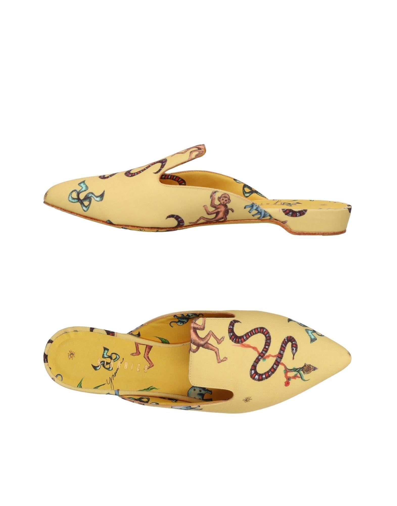 Stilvolle billige Schuhe Giannico Pantoletten Damen  11420500TN