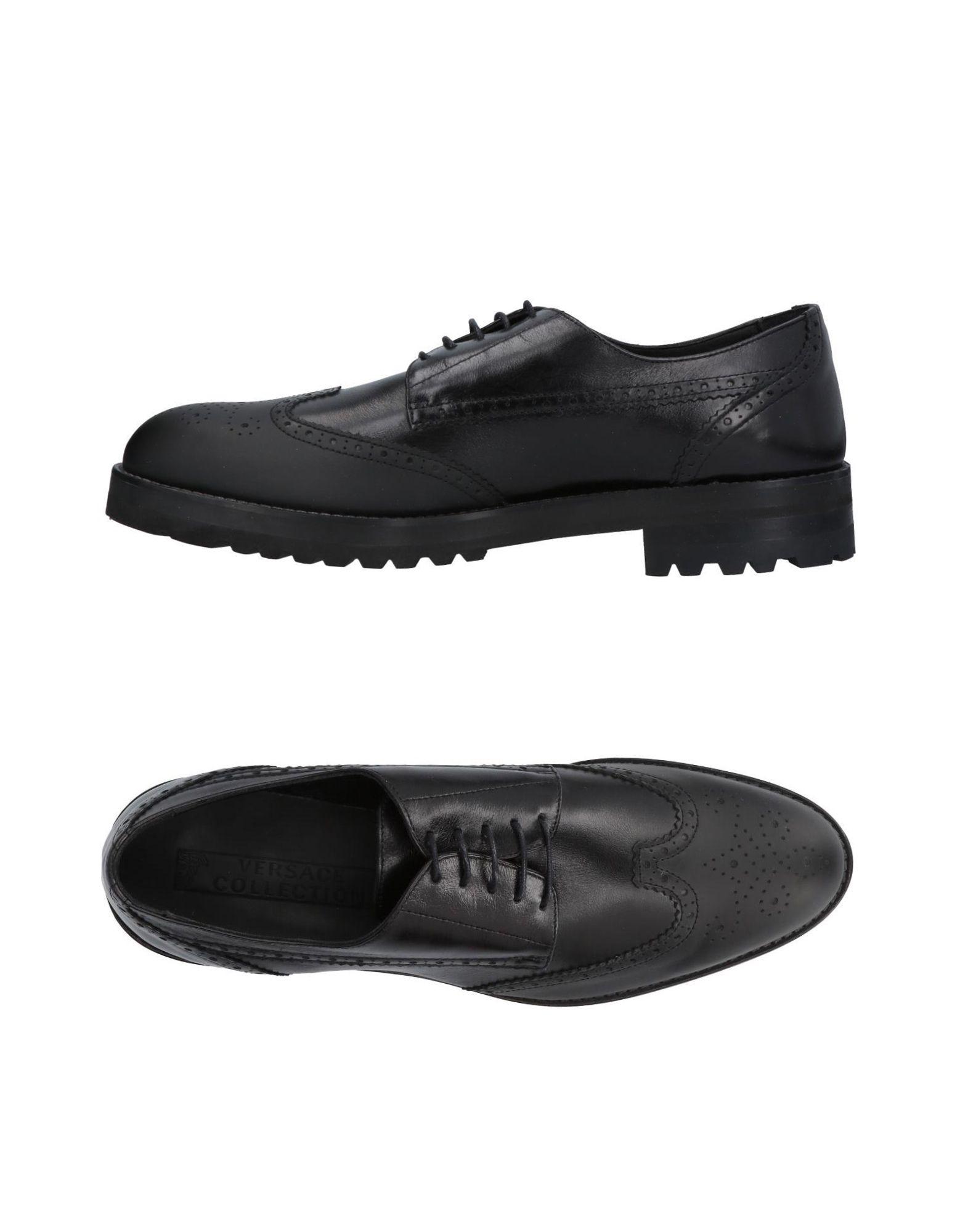 Versace Collection Schnürschuhe Herren  11420598UM Neue Schuhe