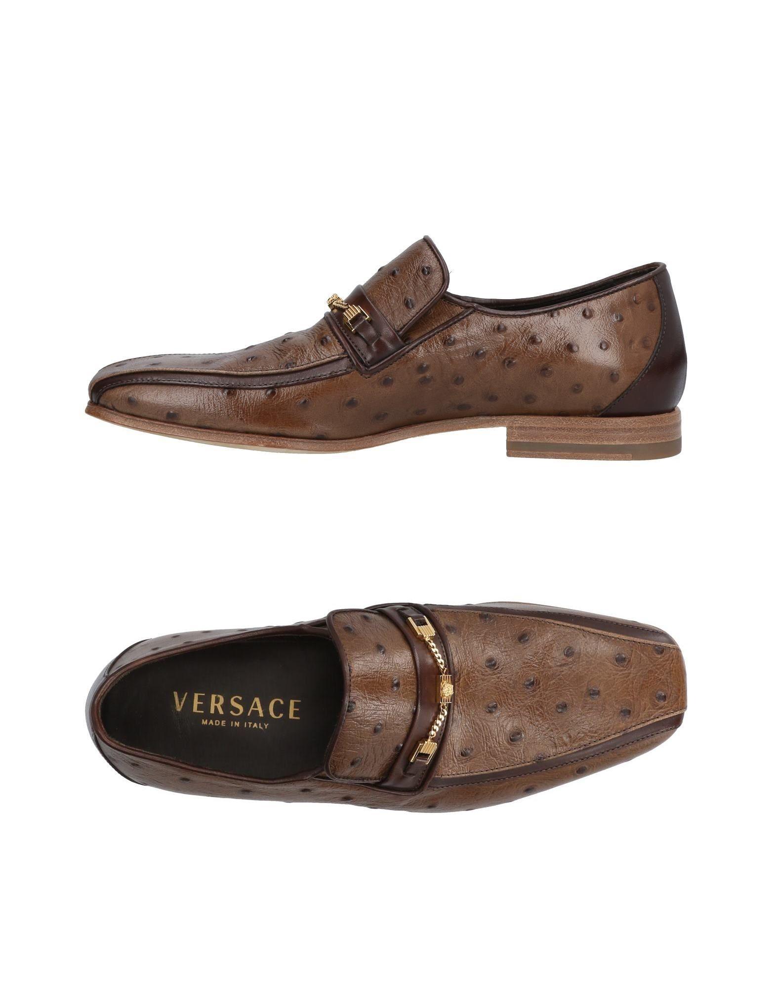 A buon mercato Mocassino Versace Uomo - 11420625UR