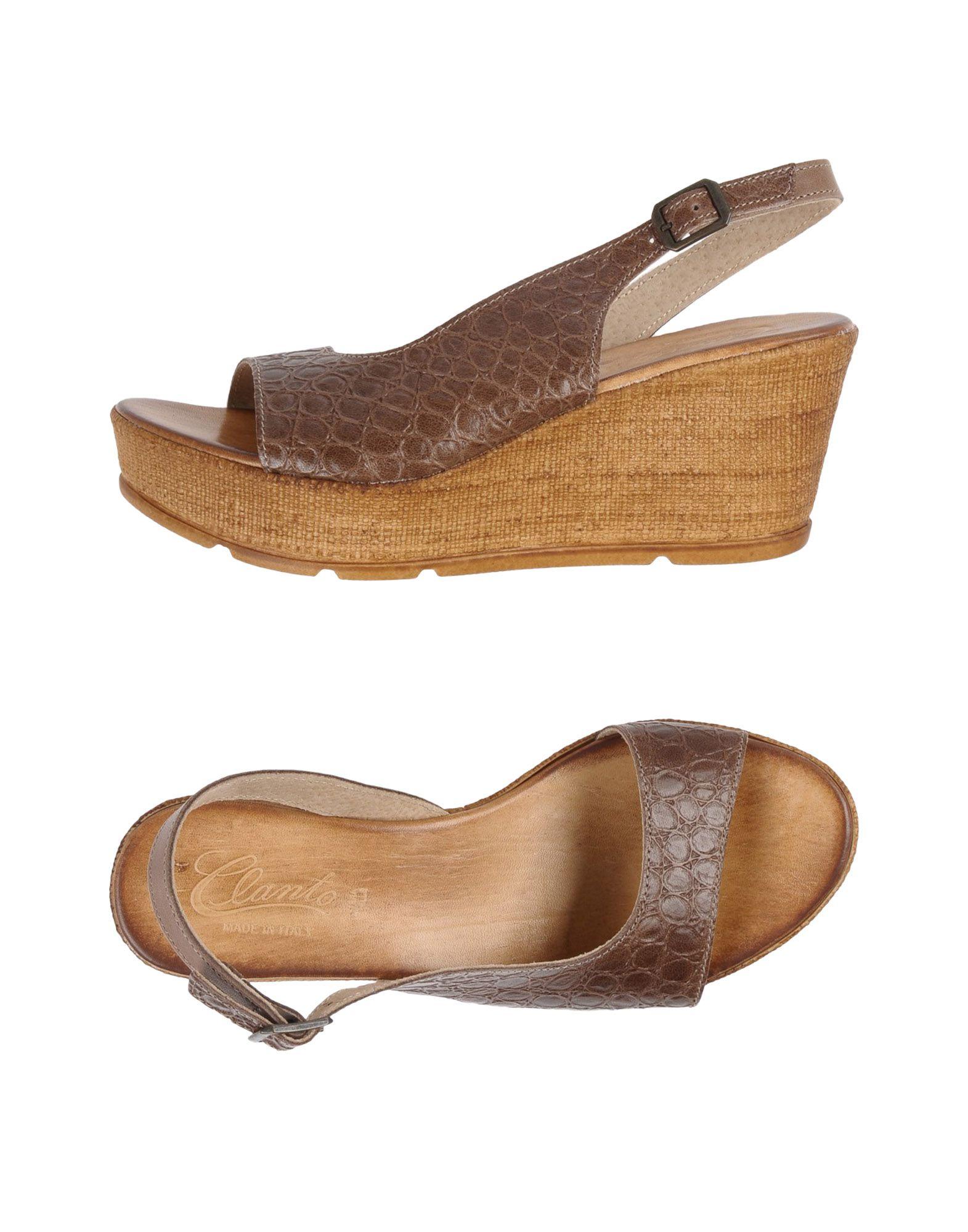 Haltbare Mode billige Schuhe Clanto Sandalen Damen  11420686PN Heiße Schuhe