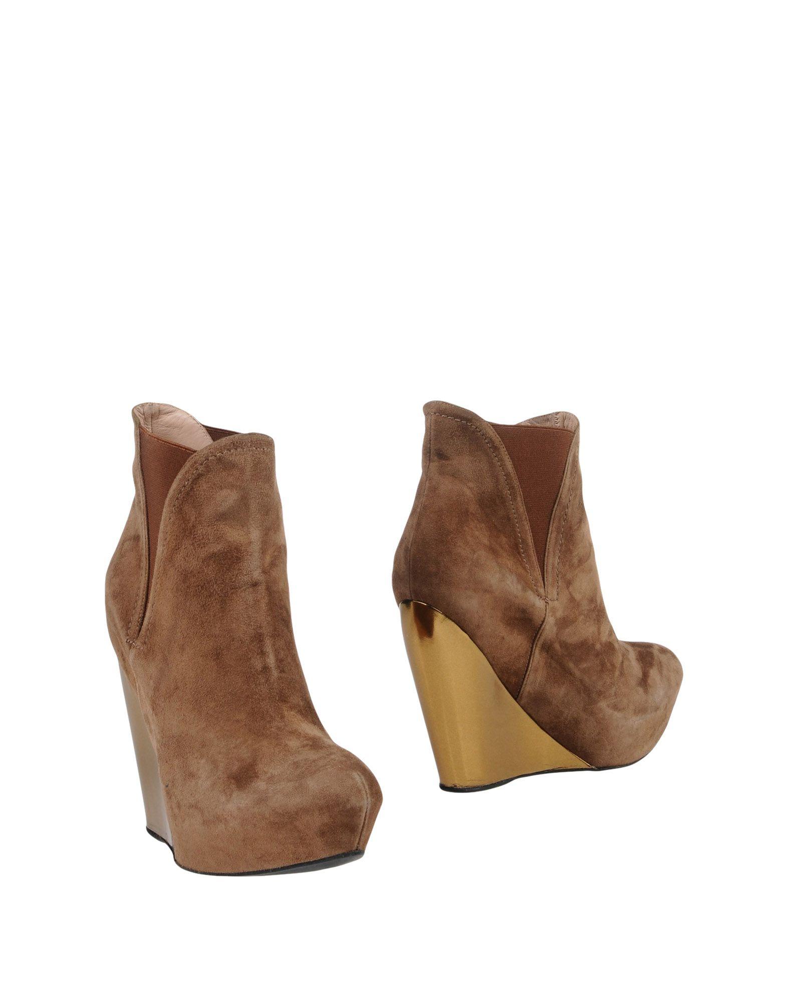 Pura López Stiefelette Damen  11421054QL Gute Qualität beliebte Schuhe