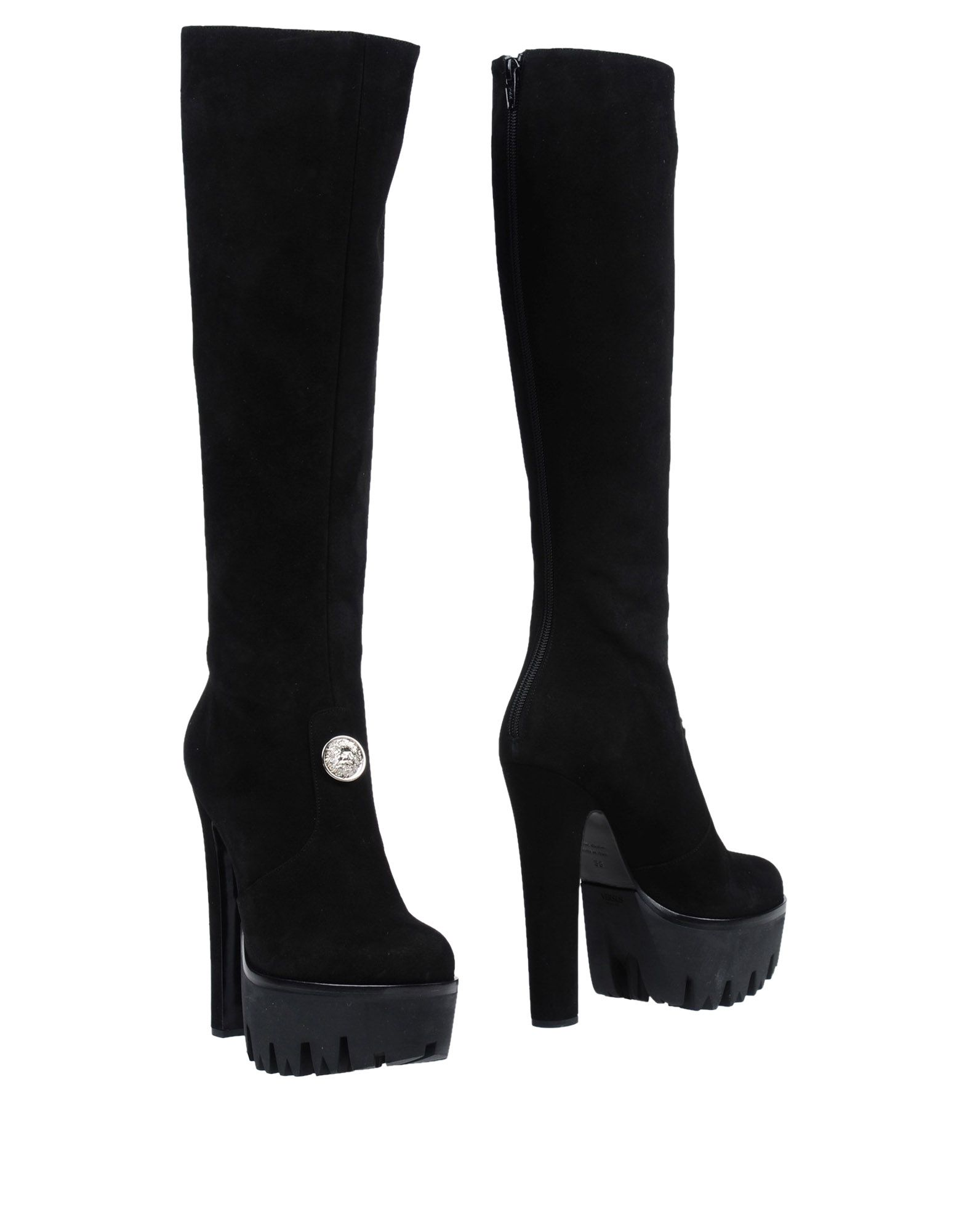 Rabatt Schuhe Versus Versace Stiefel Damen  11421065XQ