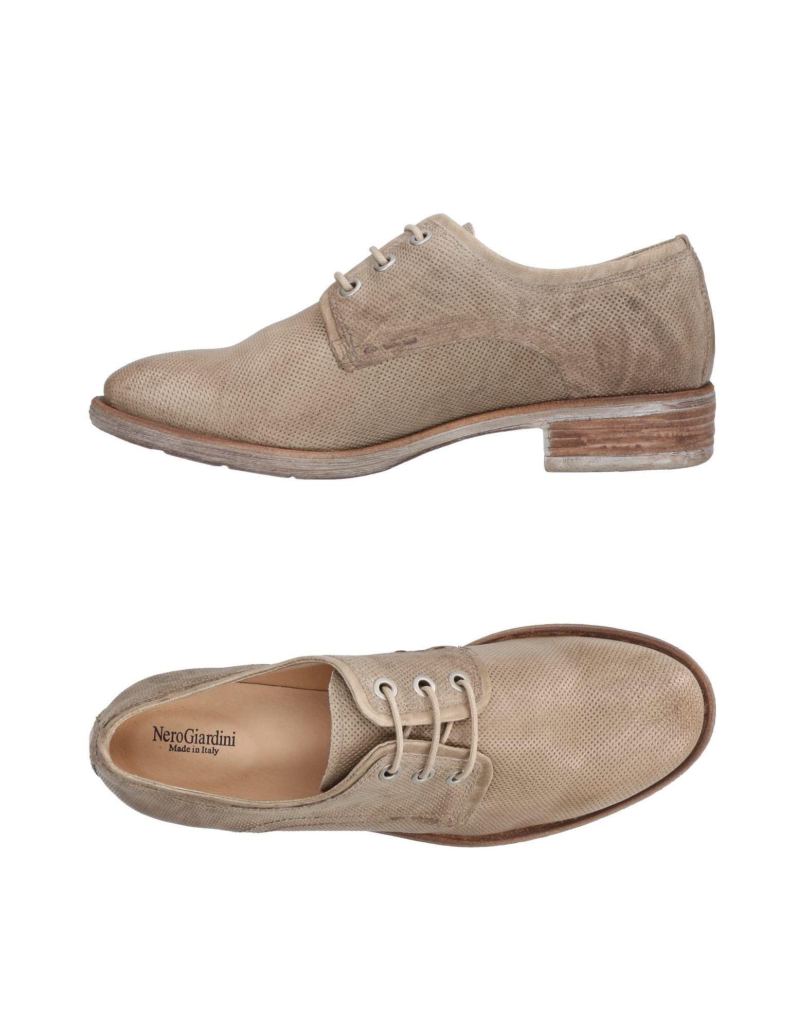 Chaussures À Lacets Nero Giardini Femme - Chaussures À Lacets Nero Giardini sur