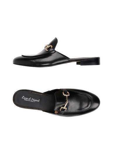 Zapatos con descuento Pantufla Luca Di Napoli Hombre - Pantuflas Luca Di Napoli - 11421558GR Negro