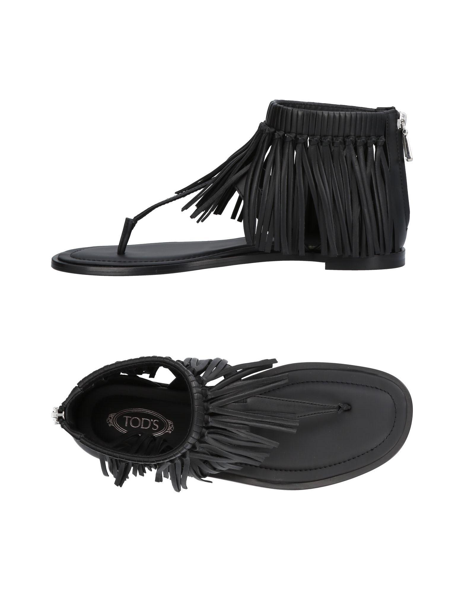 Rabatt Schuhe Tod's Dianetten Damen  11421682GN