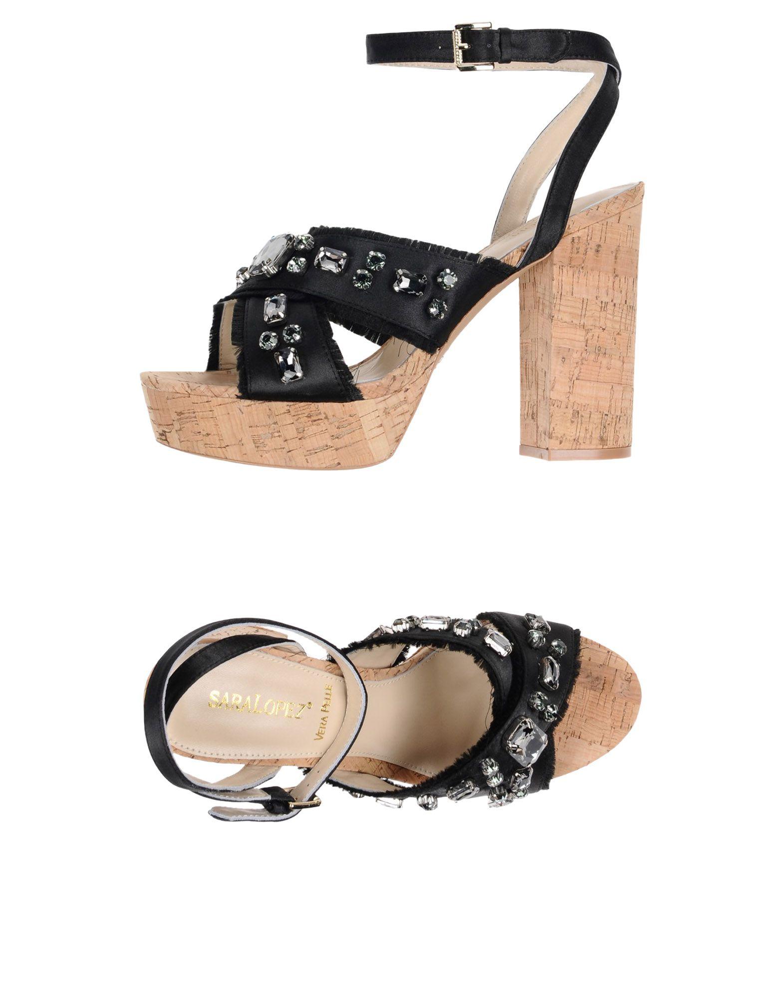 Sara López Sandalen Damen  11421781VD Gute Qualität beliebte Schuhe