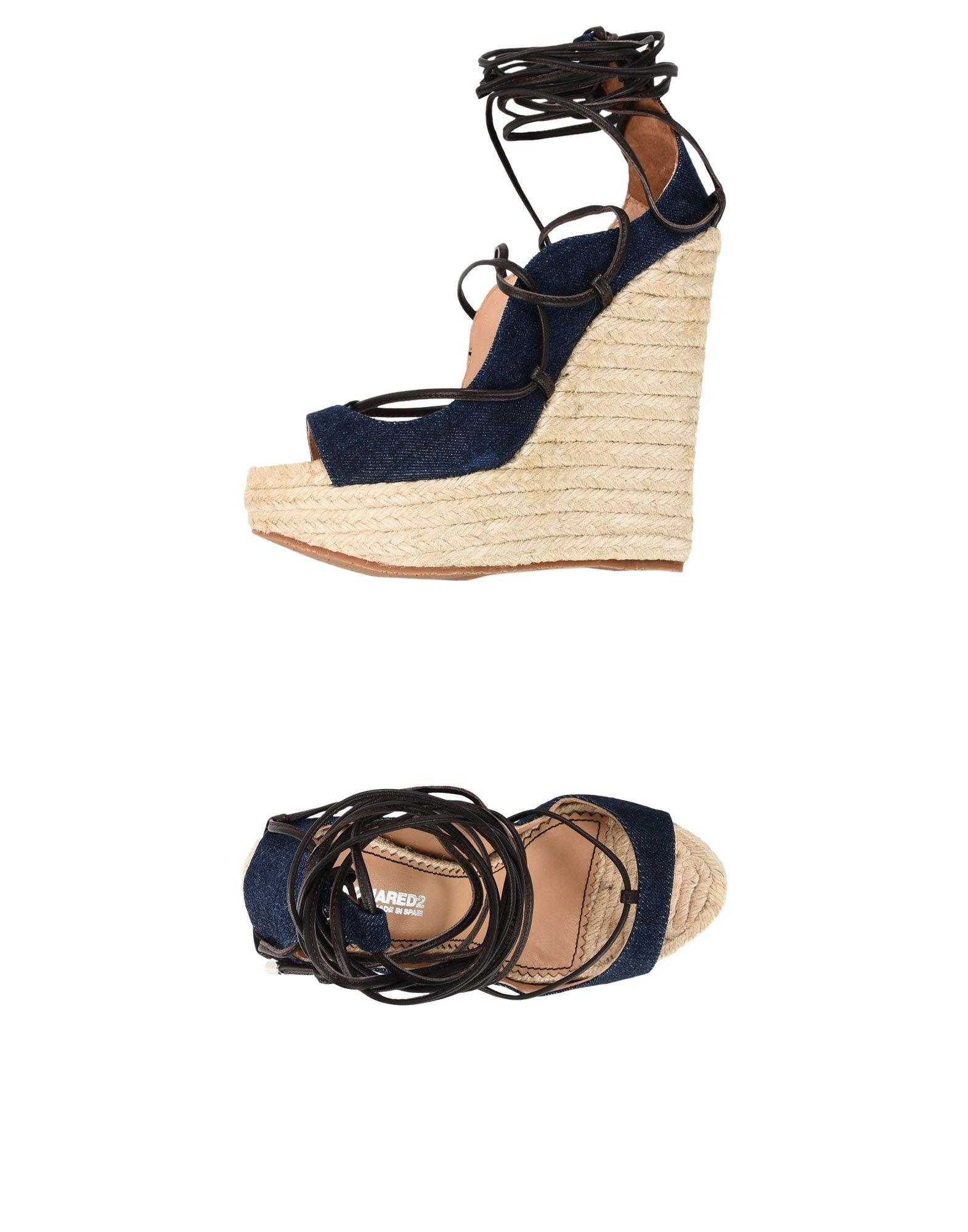 Rabatt Schuhe Dsquared2 Espadrilles Damen  11421815WA