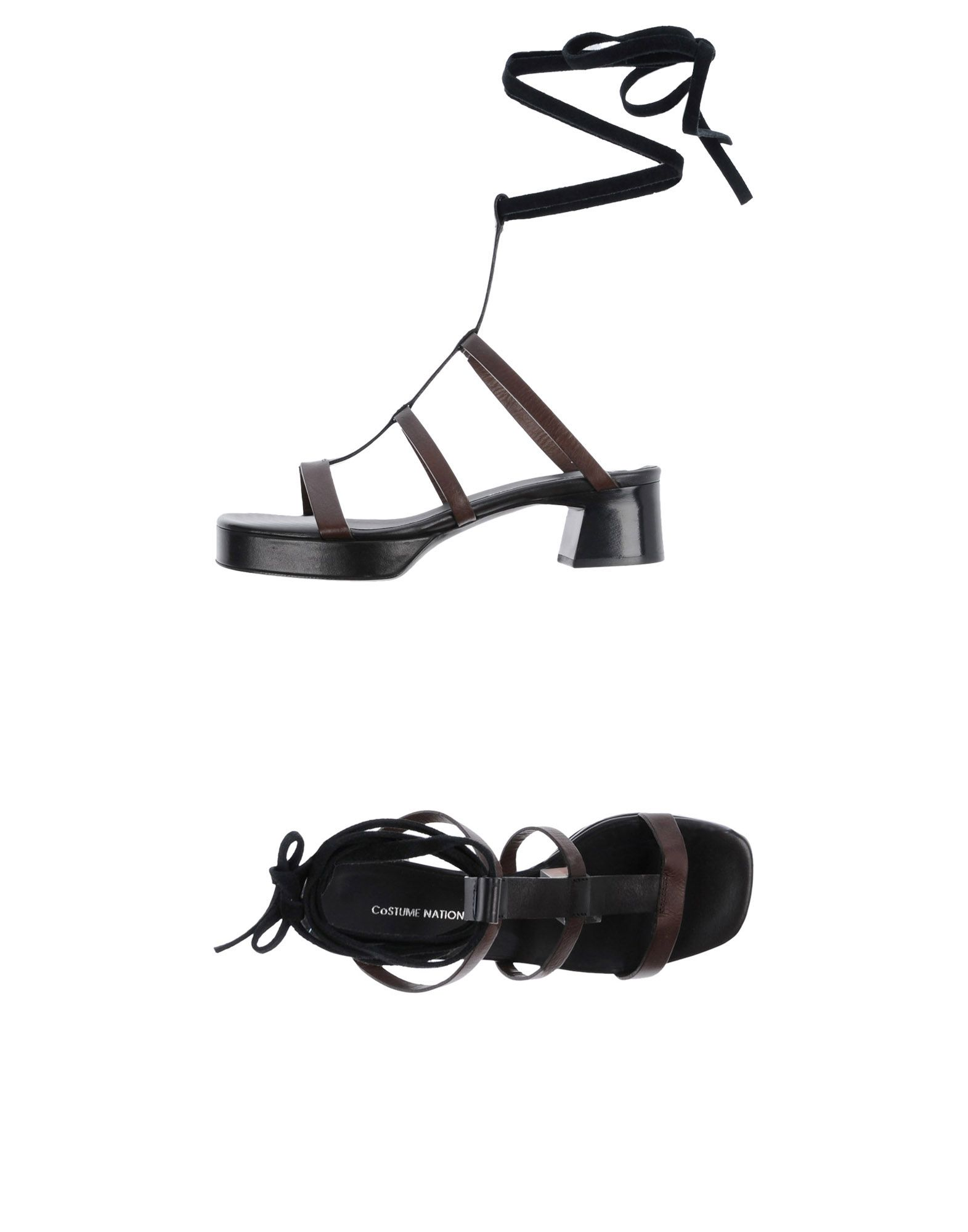 Stilvolle billige Schuhe Costume National Sandalen Damen  11422353EF