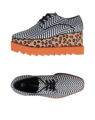Mccartney À Noir Lacets Chaussures Stella S1dwRRgq