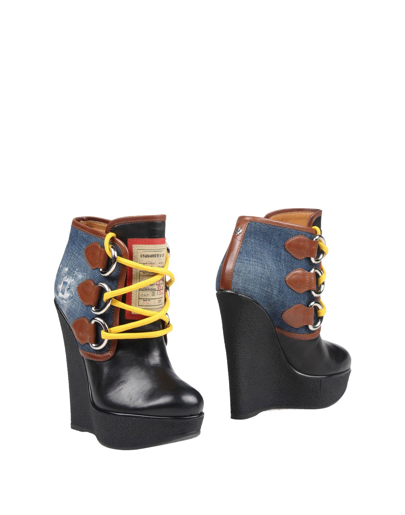 Bottine Dsquared2 Femme - Bottines Dsquared2 Bleu Les chaussures les plus populaires pour les hommes et les femmes