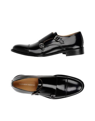 Zapatos con Hombre descuento Mocasín Leonardo Principi Hombre con - Mocasines Leonardo Principi - 11422464WD Negro e56004