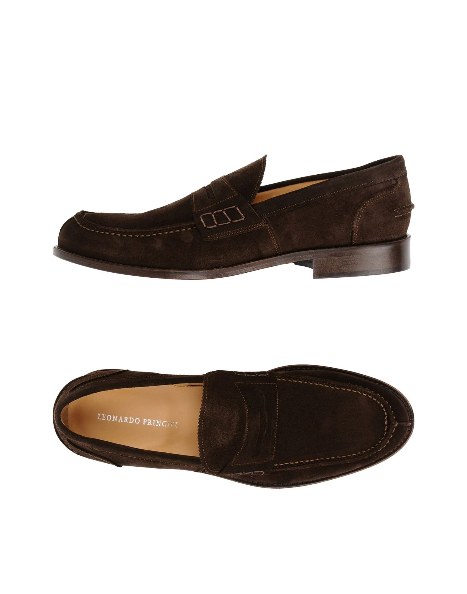 Rabatt echte Schuhe Leonardo Principi Mokassins Herren  11422542PA