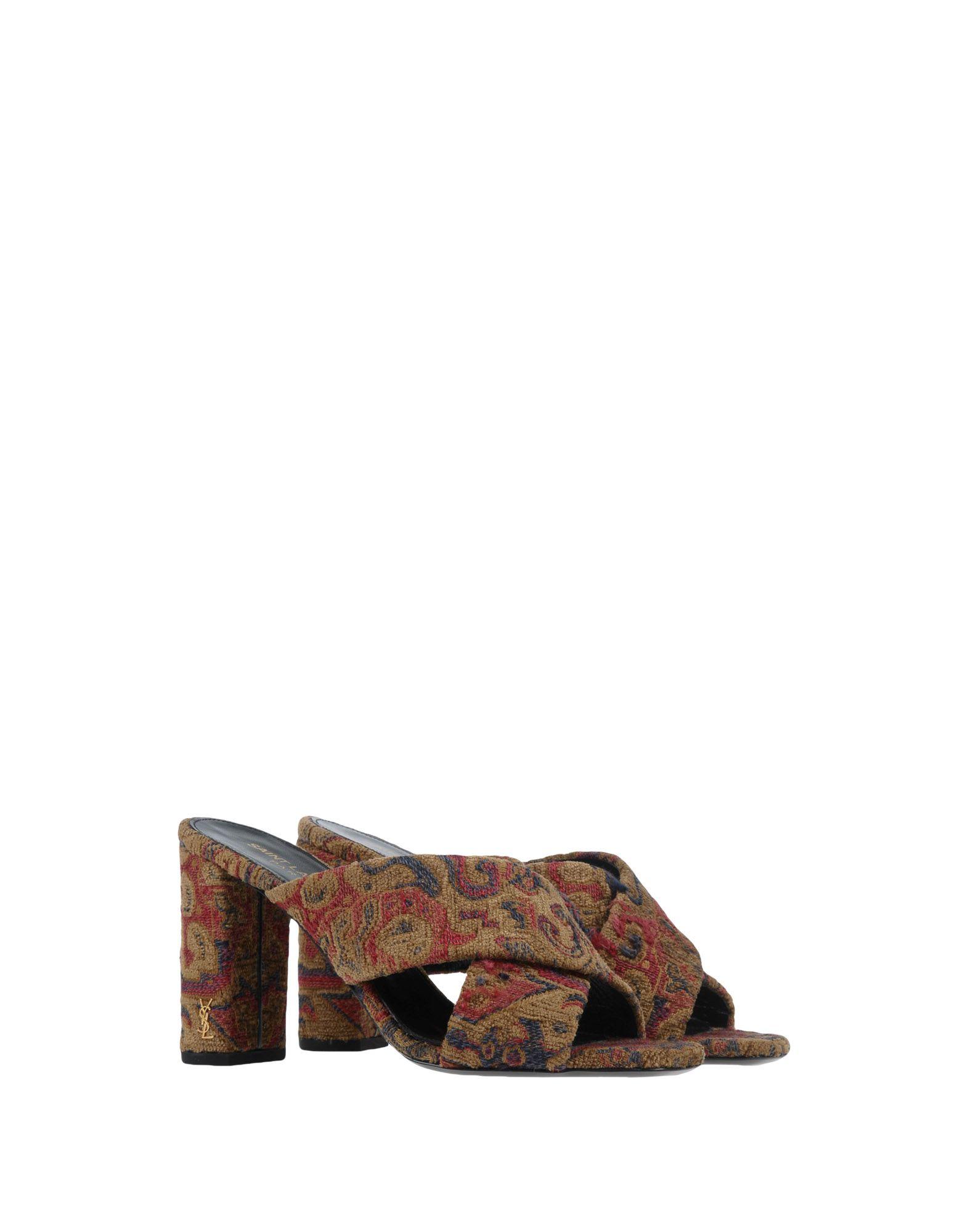 Rabatt Schuhe Saint Laurent Sandalen 11422934WR Damen  11422934WR Sandalen 0623e1