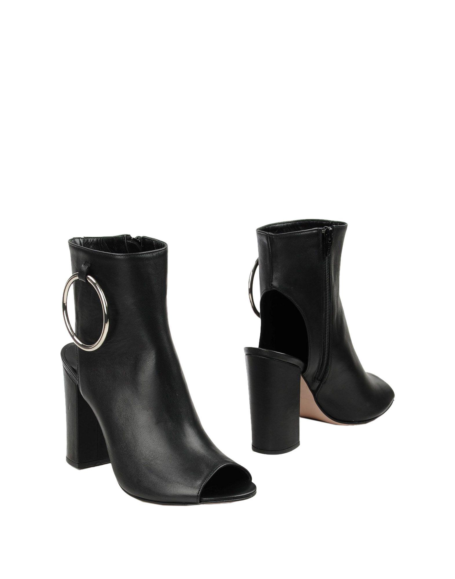 HOGAN STIVALETTI MIS. D 375 Marrone Donna Scarpe Stivali shoes tacco alto
