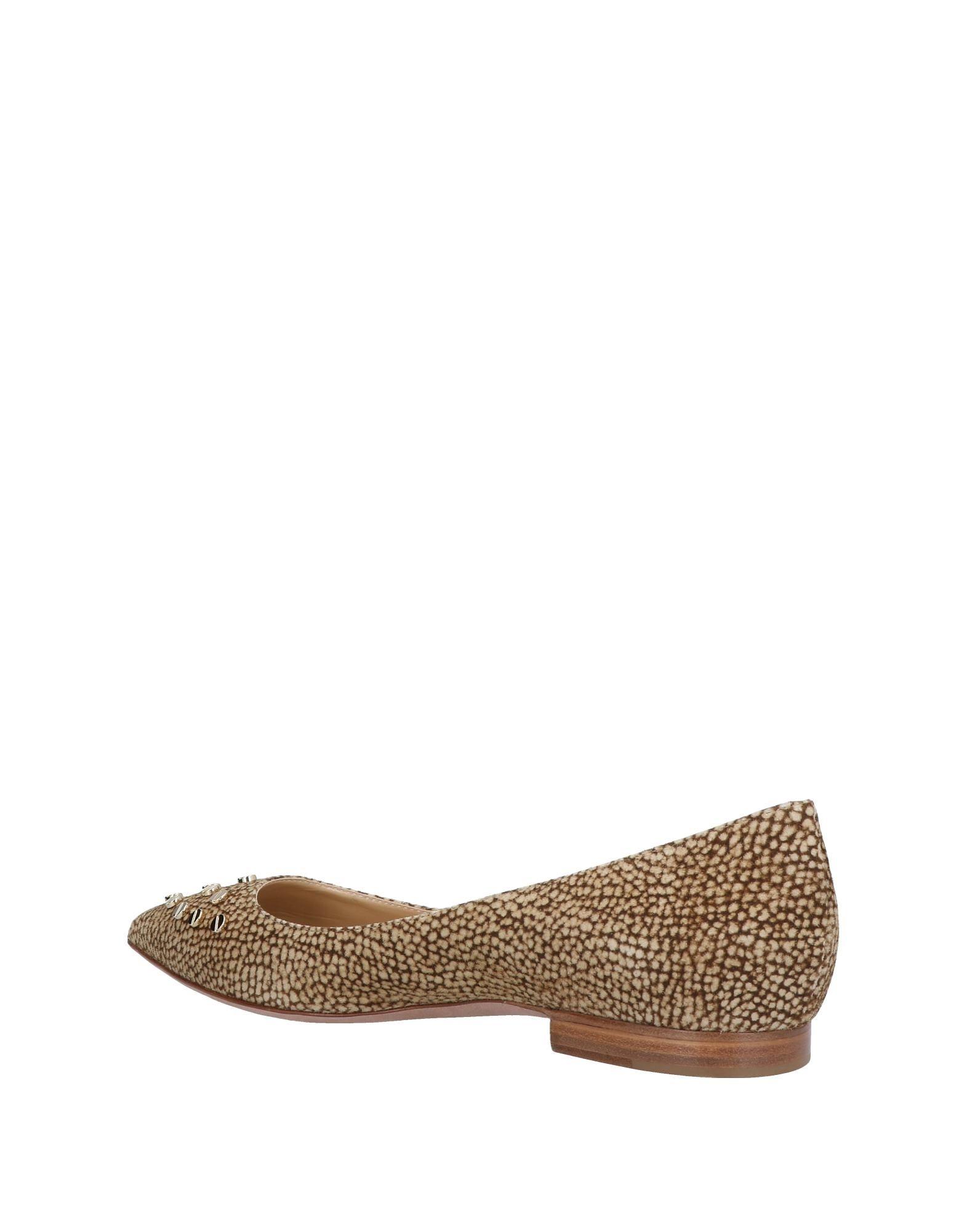 Borbonese Ballerinas Damen  11423214EHGut aussehende strapazierfähige Schuhe