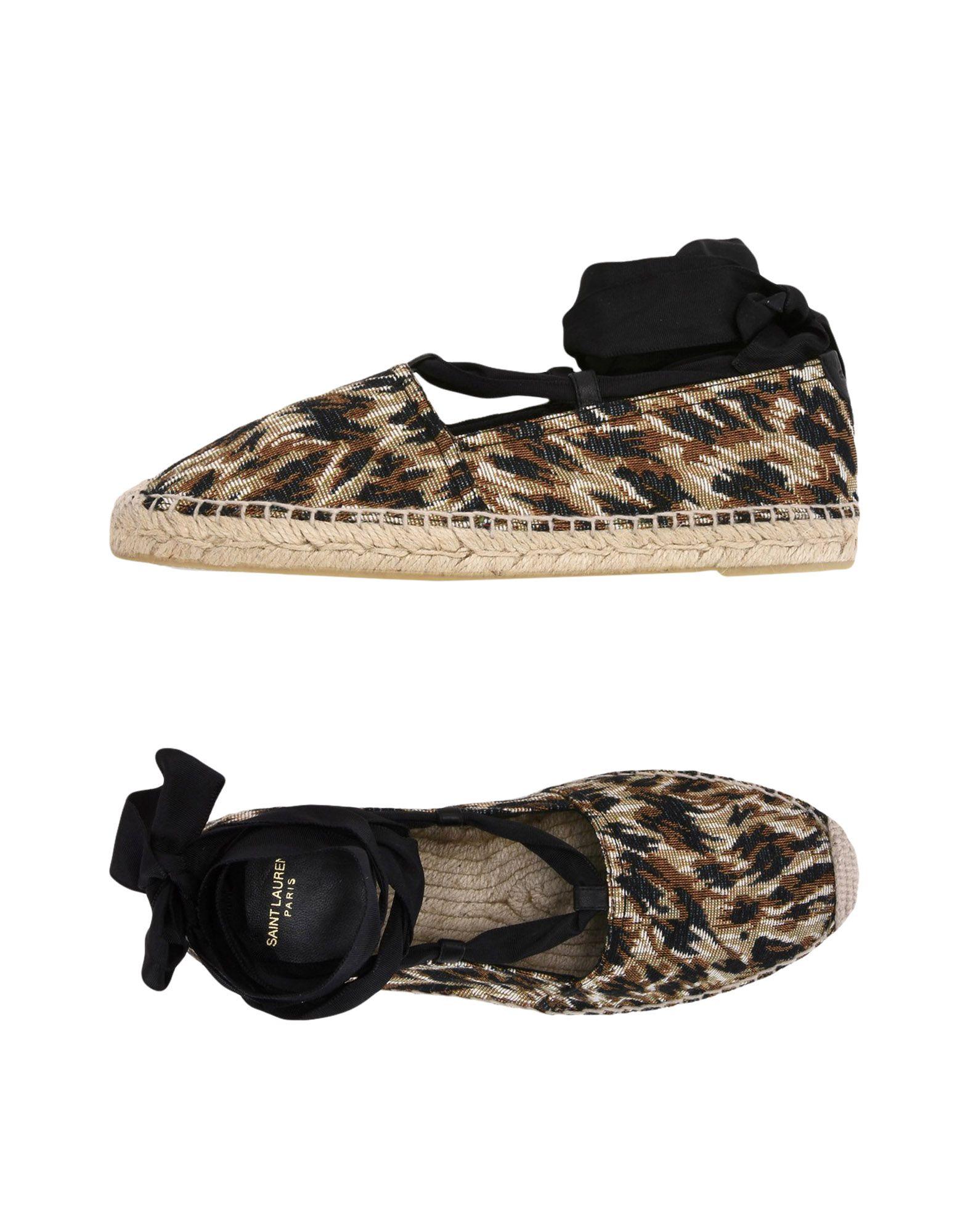 Saint Laurent Espadrilles Damen  11423218KXGut aussehende strapazierfähige Schuhe