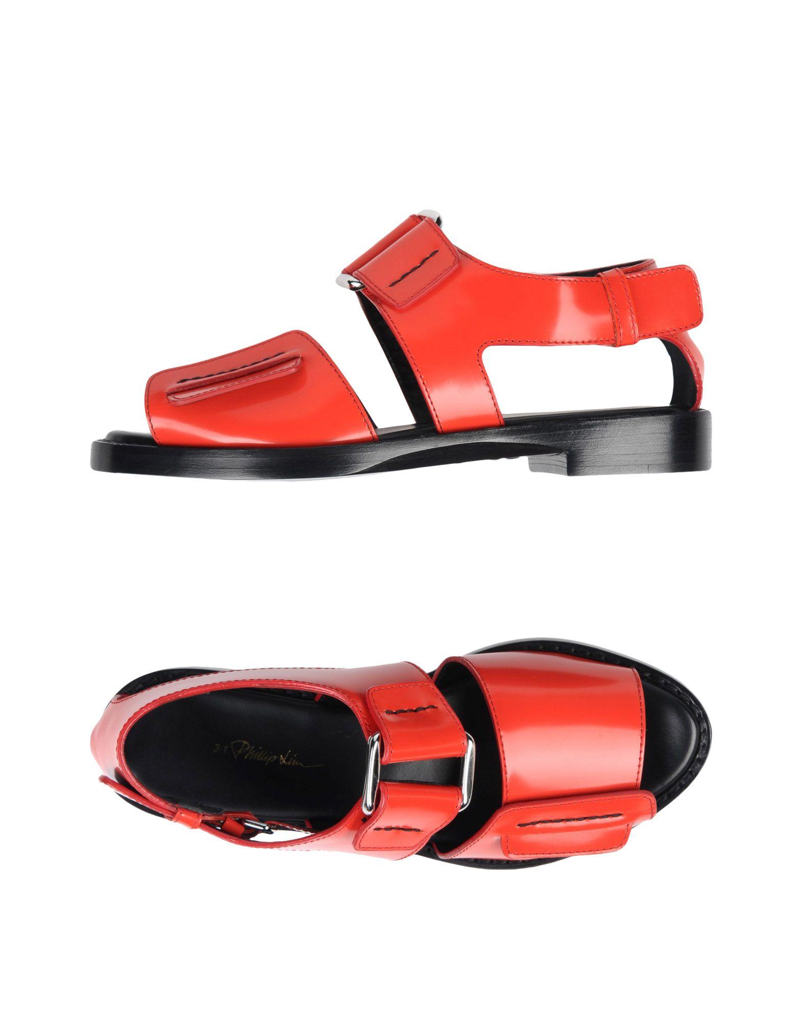 3.1 Phillip Lim Sandalen Damen  11423432PD Neue Schuhe