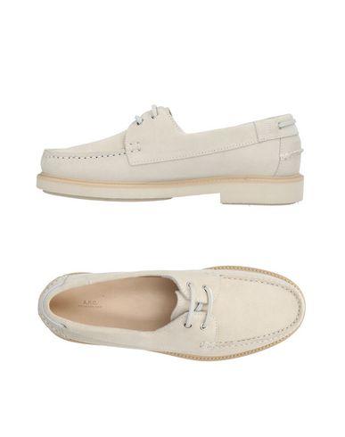 Zapatos con descuento Mocasín A.P.C. Hombre - Mocasines A.P.C. - 11423485SB Marfil