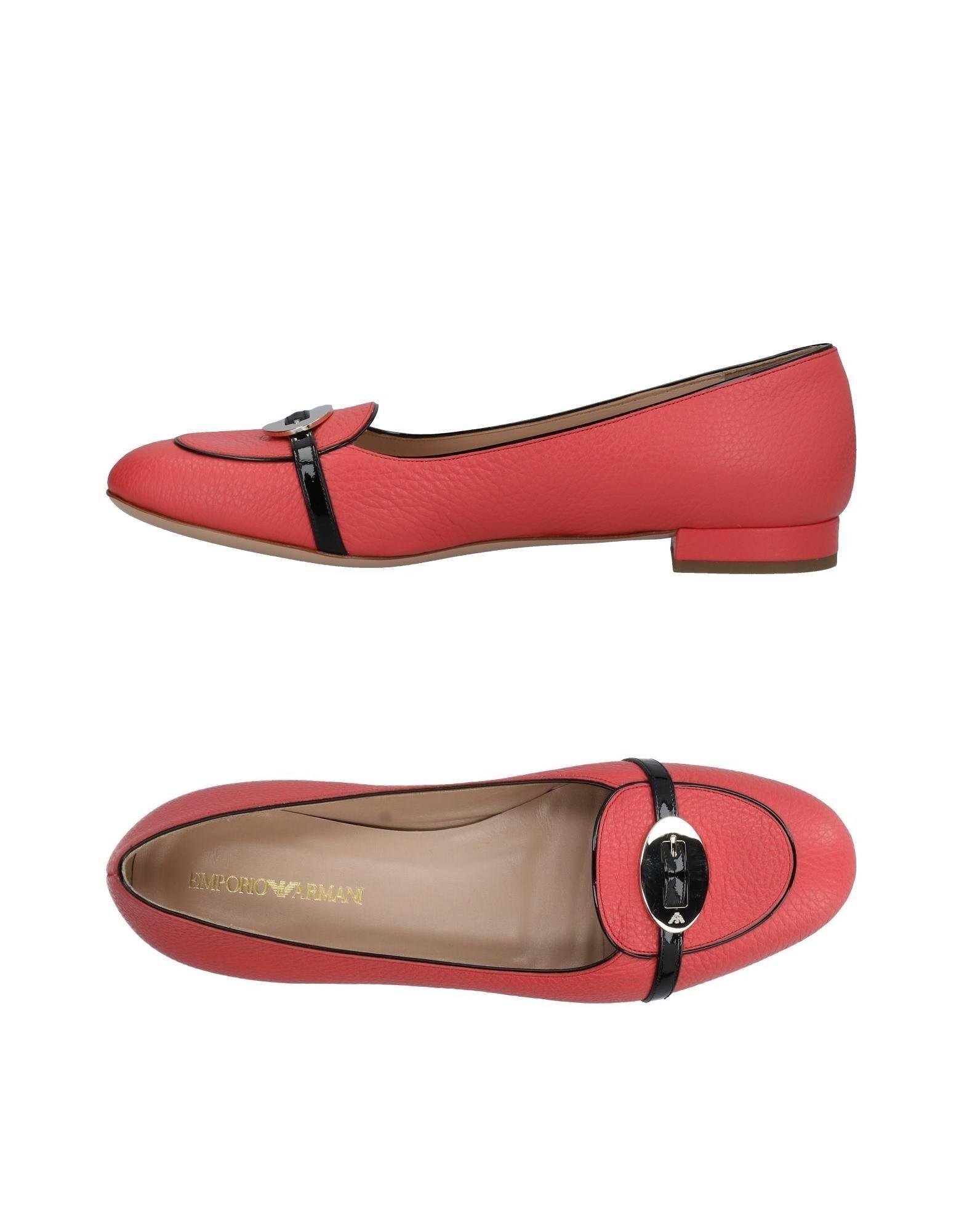Stilvolle billige Schuhe Emporio Armani Mokassins Damen  11423491HD