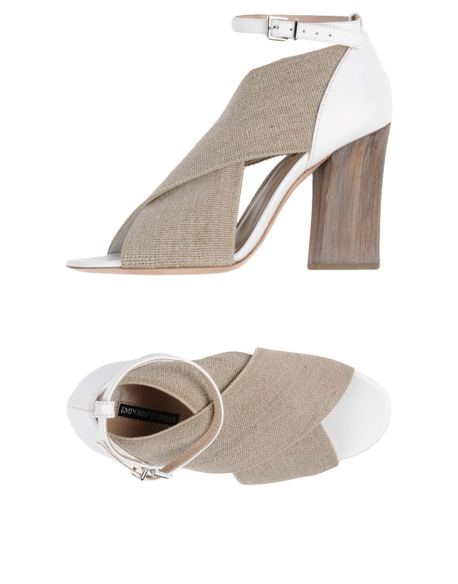 Stilvolle billige Schuhe Emporio Armani Sandalen Damen  11423495IG