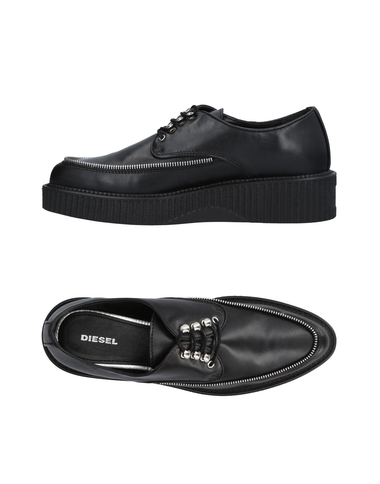 Gut um billige Schuhe zu tragenDiesel Schnürschuhe Damen  11423643LW