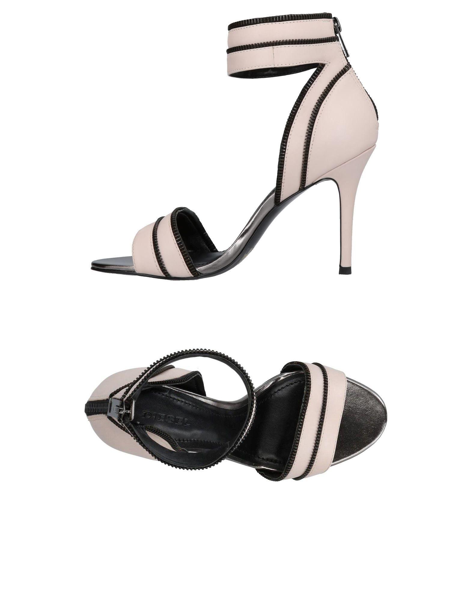 Haltbare Mode billige Schuhe Diesel Sandalen Damen  11423692WB Heiße Schuhe