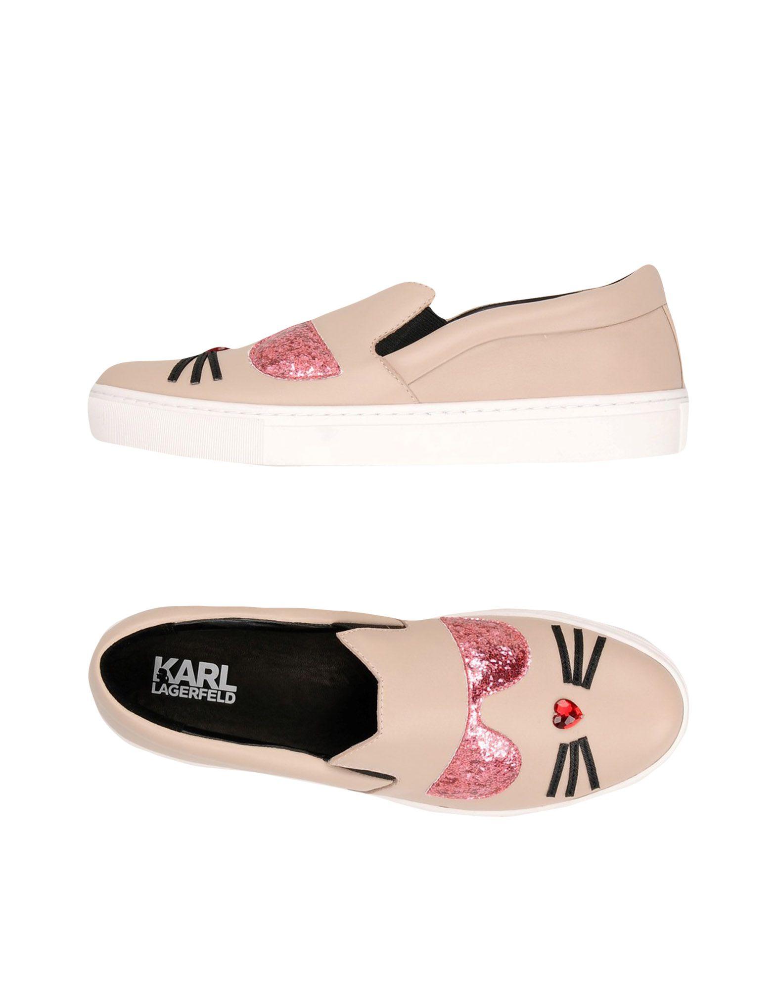 Sneakers Karl Lagerfeld Kupsole Choupette Toe Slip - Donna - 11423769GT