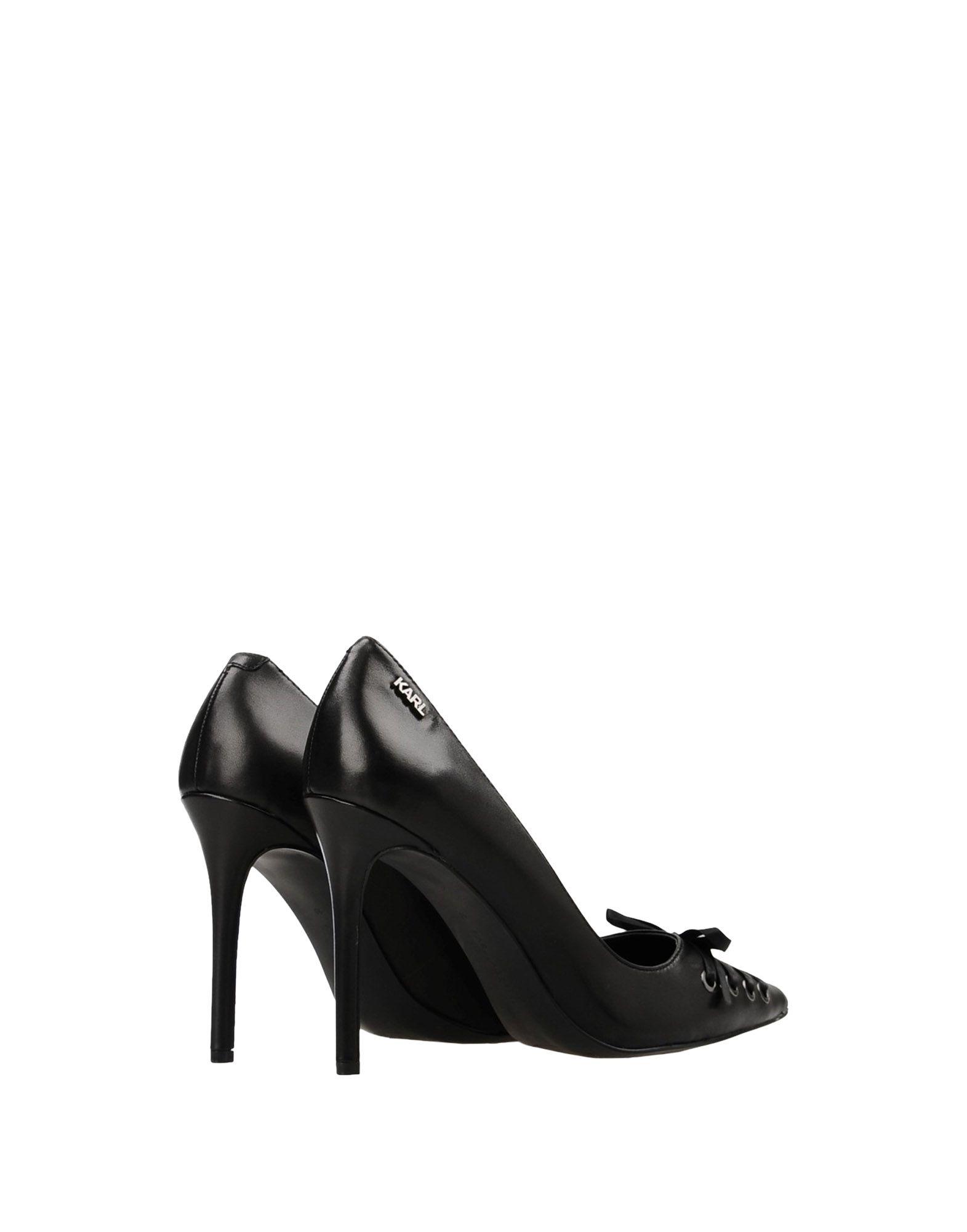 Stilvolle Court billige Schuhe Karl Lagerfeld Manoir Hi Court Stilvolle Lace 11423786EH 3a8855