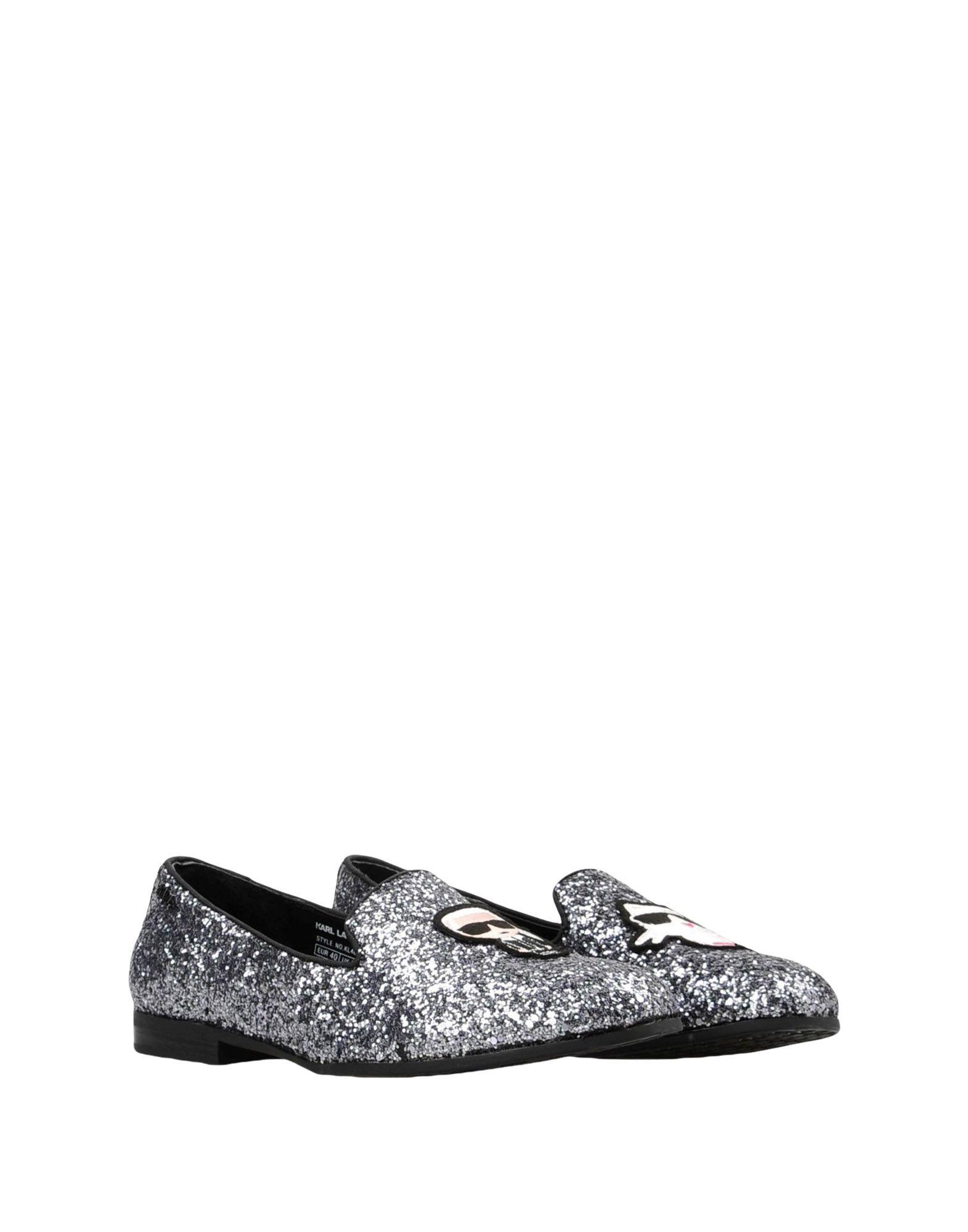 Stilvolle billige Schuhe Karl  Lagerfeld Salotto Ikonic Slipper  Karl 11423791UO 79694d