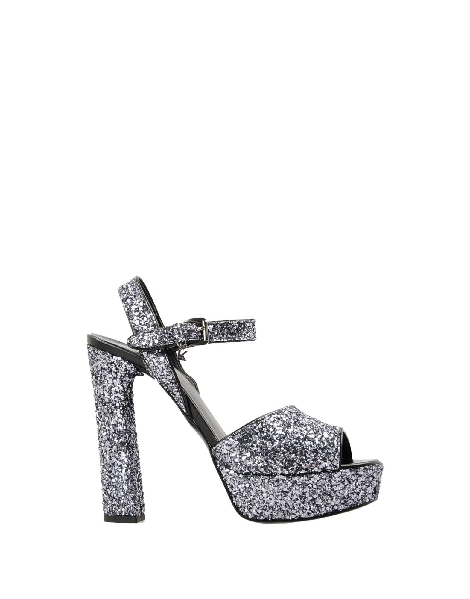 ... Sandales Karl Lagerfeld Soiree Open Sandal Glitter - Femme - Sandales  Karl Lagerfeld sur ...