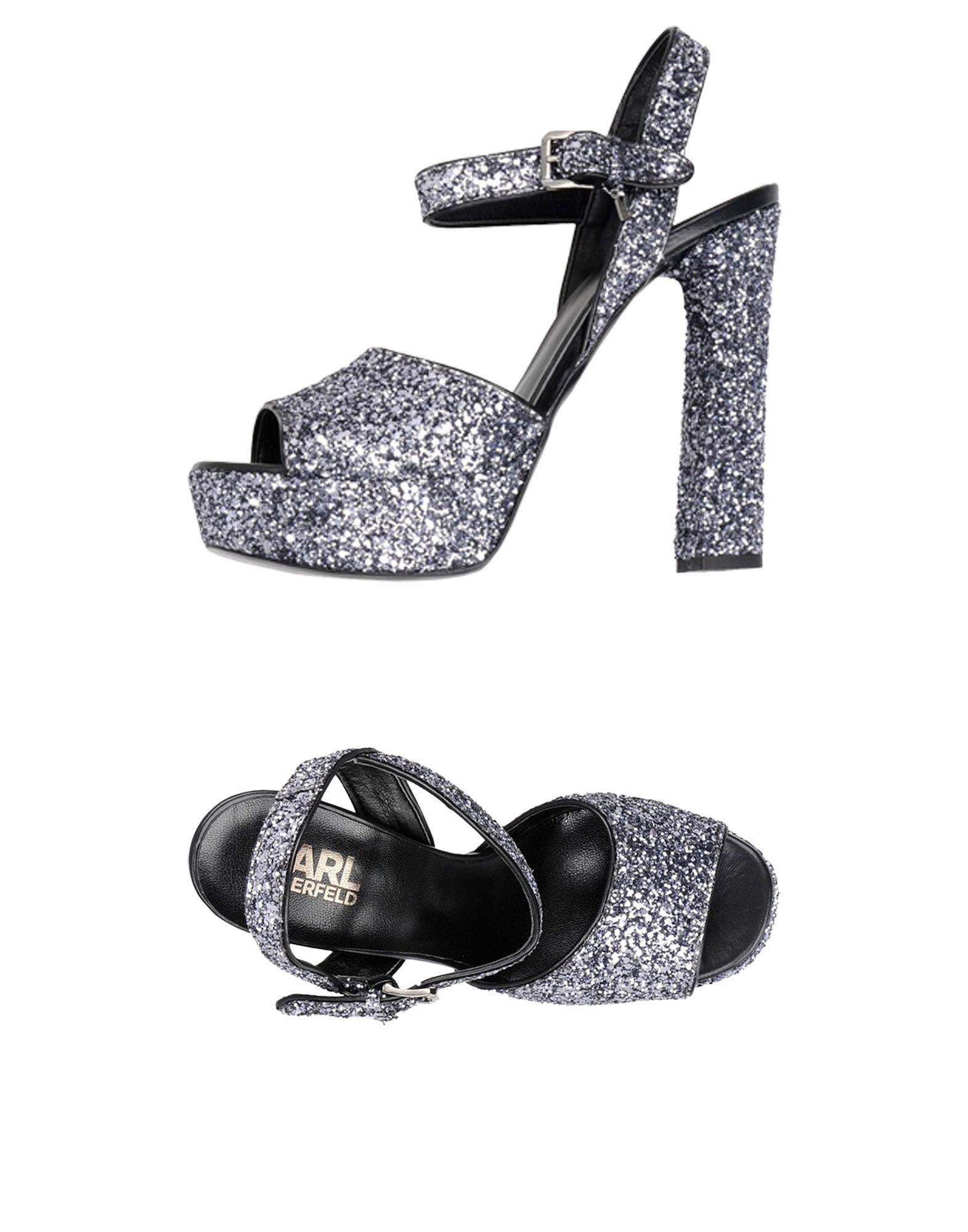 Karl Lagerfeld Soiree Open Sandal Glitter  11424039MTGut aussehende strapazierfähige Schuhe