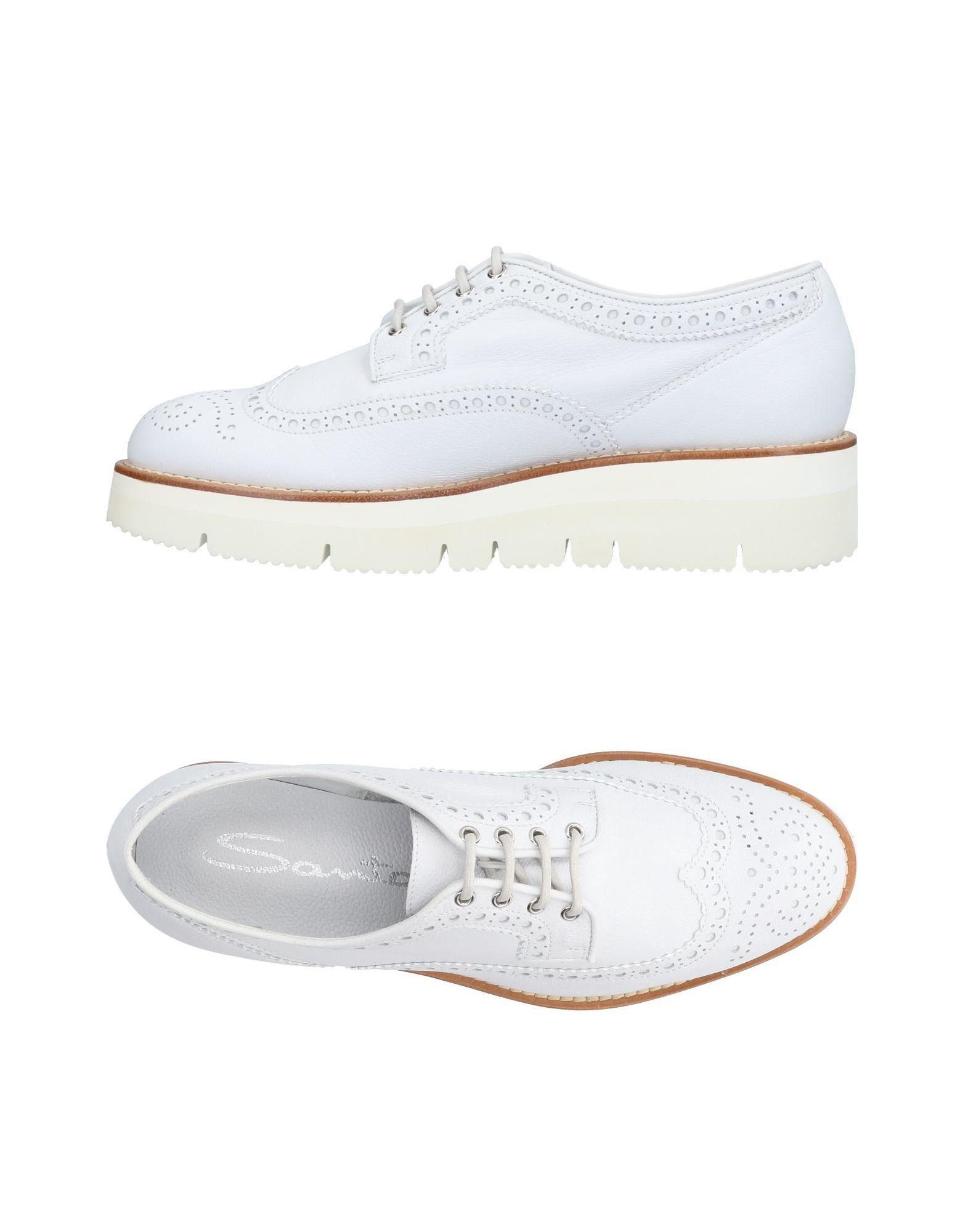 Santoni Lacets À Femme Chaussures Sur 8EBgEO