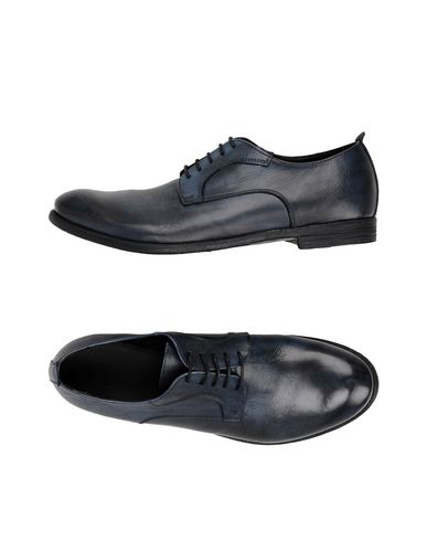 PAWELK'S Laced Shoes in Dark Blue