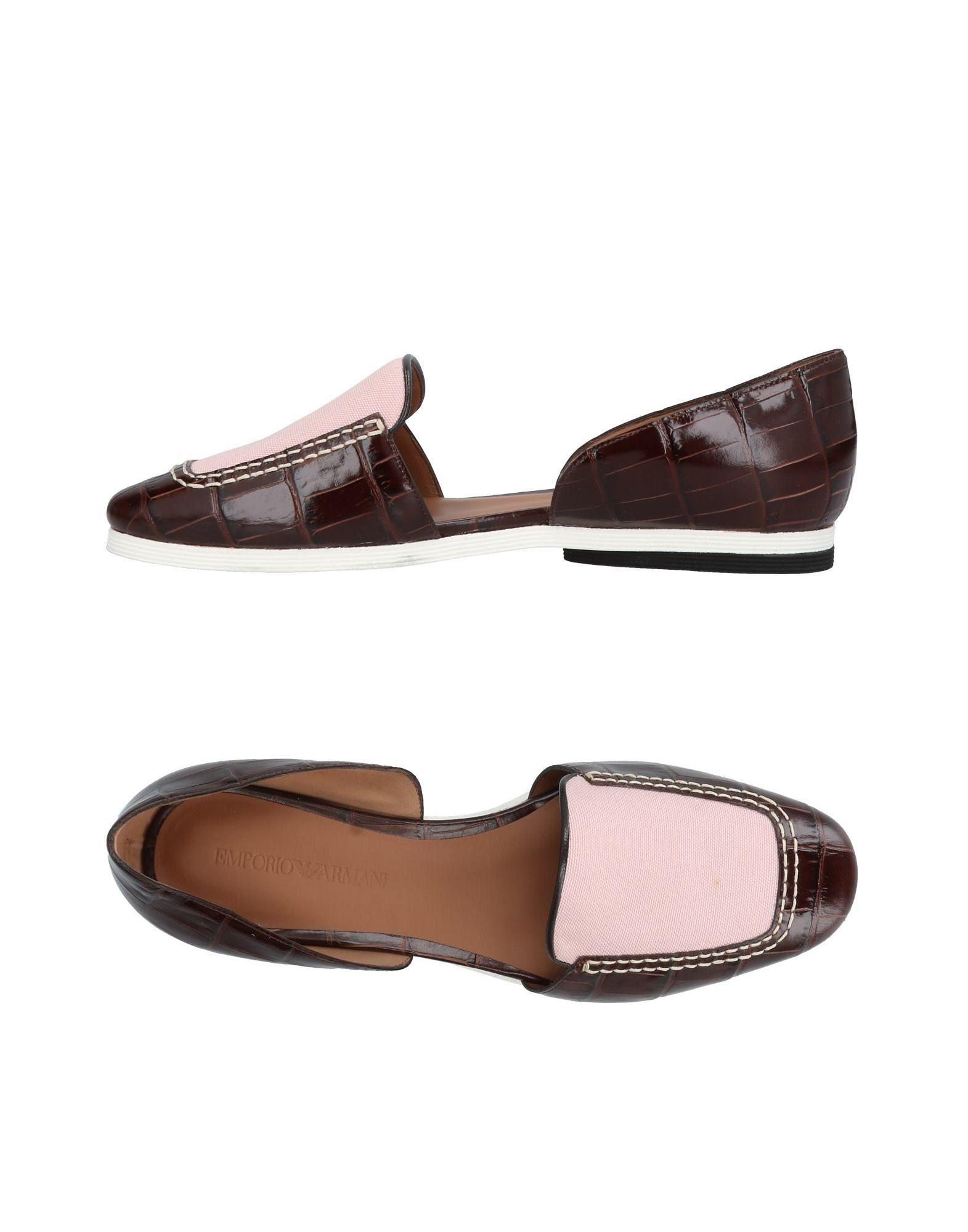 Emporio Armani Mokassins Damen  11424175WA Neue Schuhe
