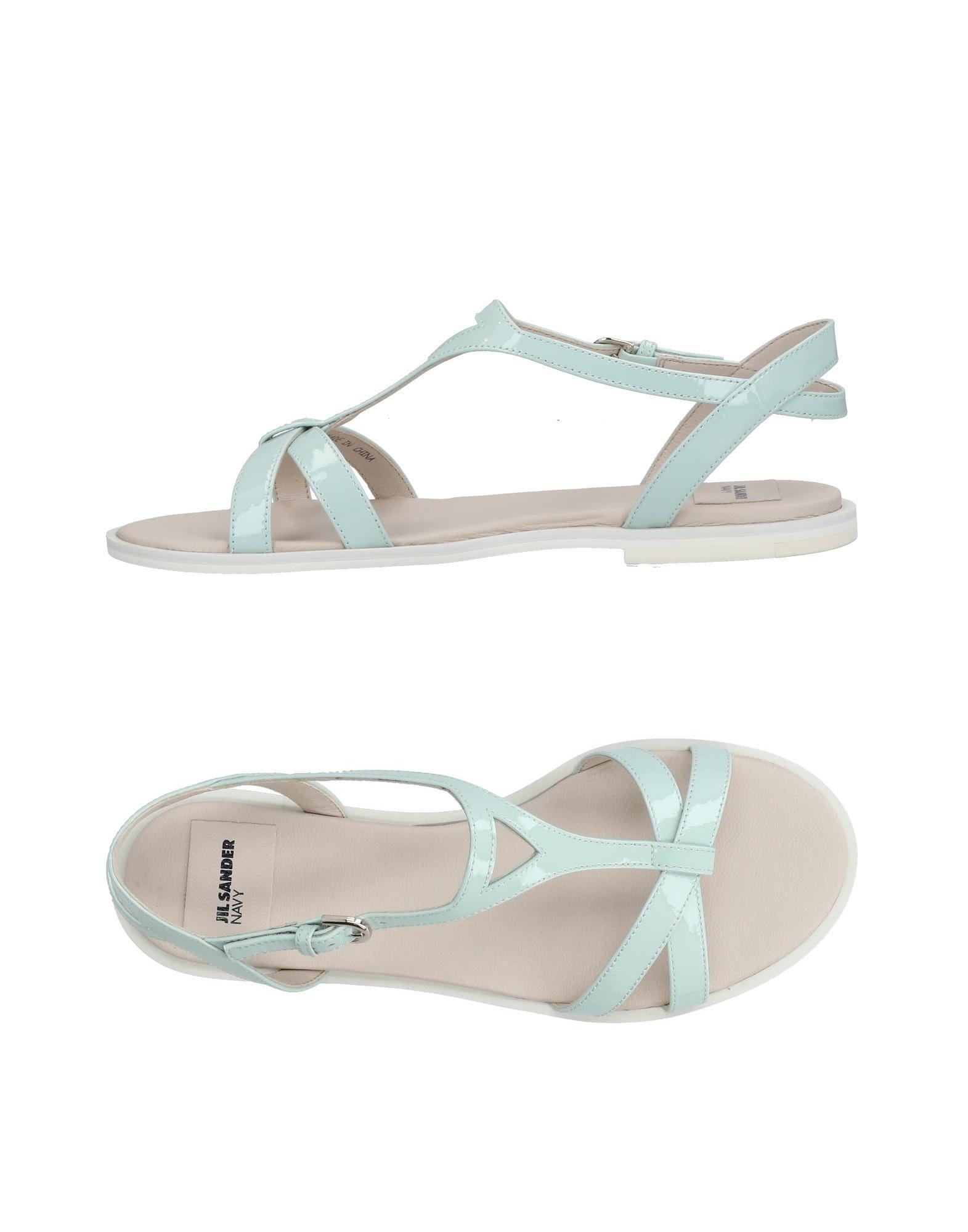 Gut um billige Schuhe zu tragenJil Sander Navy Sandalen Damen  11424299JM