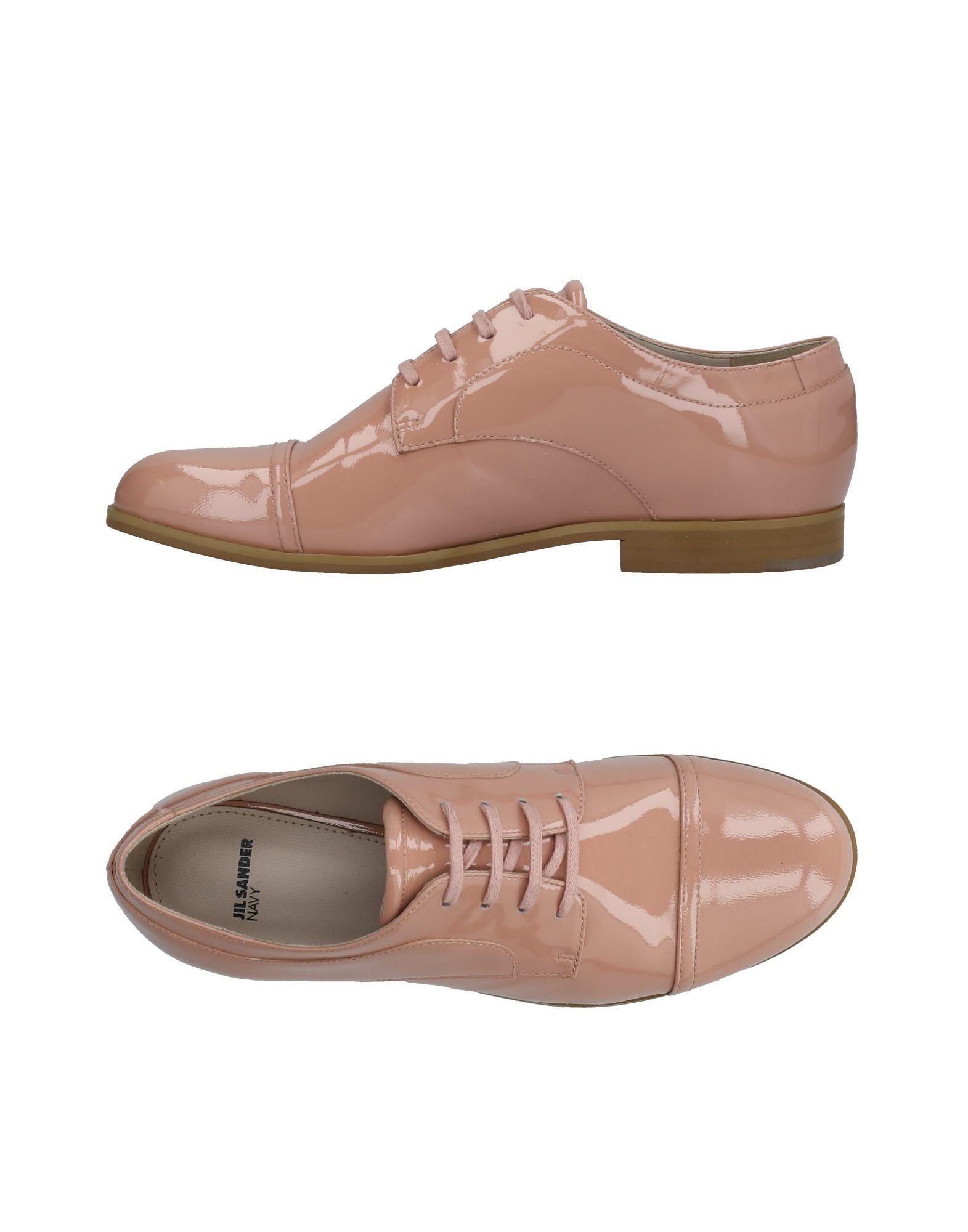 Stilvolle billige Schuhe Jil Sander Navy Schnürschuhe Damen  11424338RG