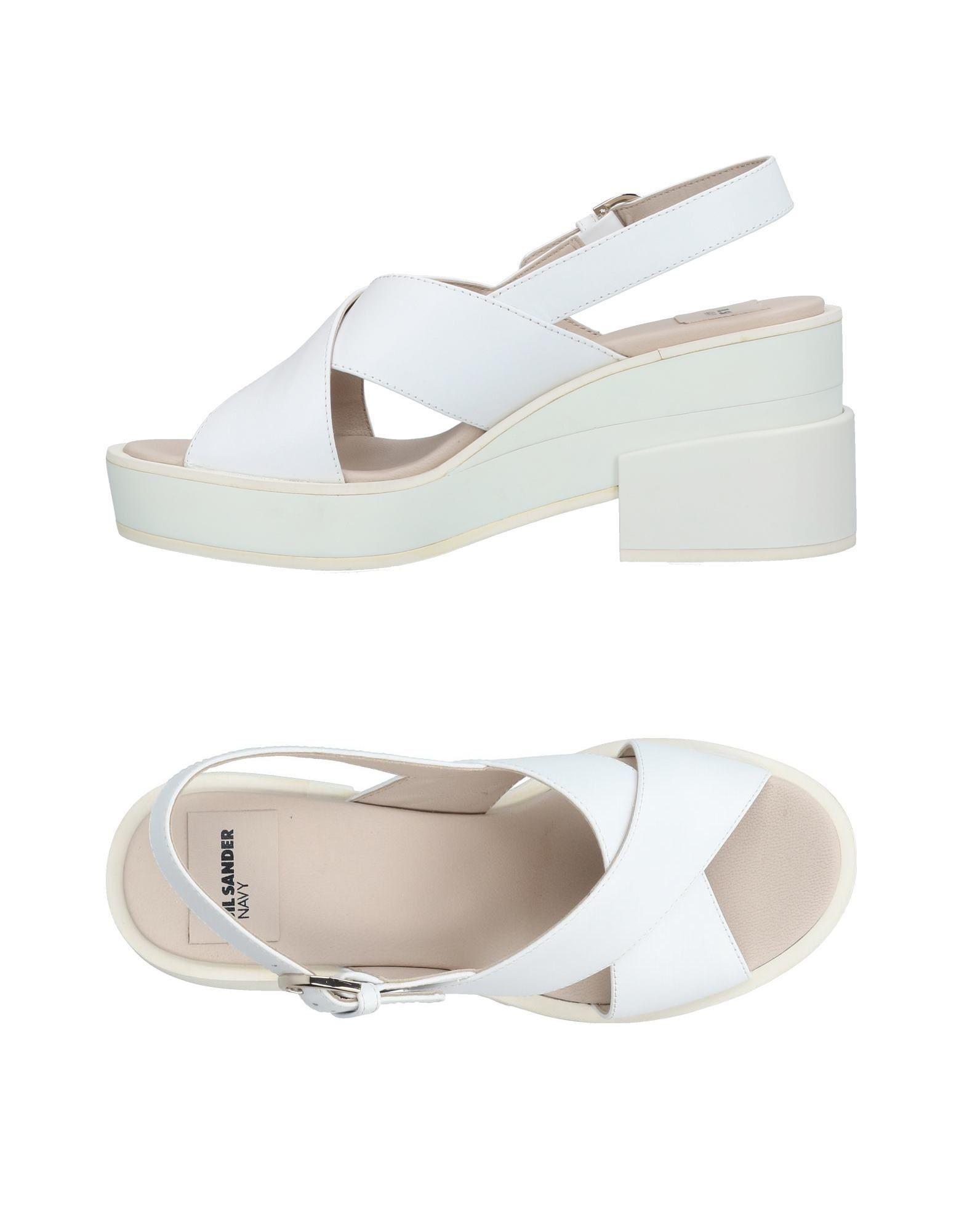 Jil Sander Navy Sandalen Damen  11424395PP Neue Schuhe