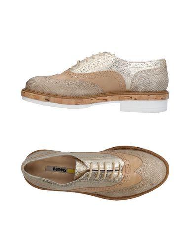 Zapato De Cordones Manas Mujer - Zapatos Zapatos - De Cordones Manas - 11424449FU Platino bed397