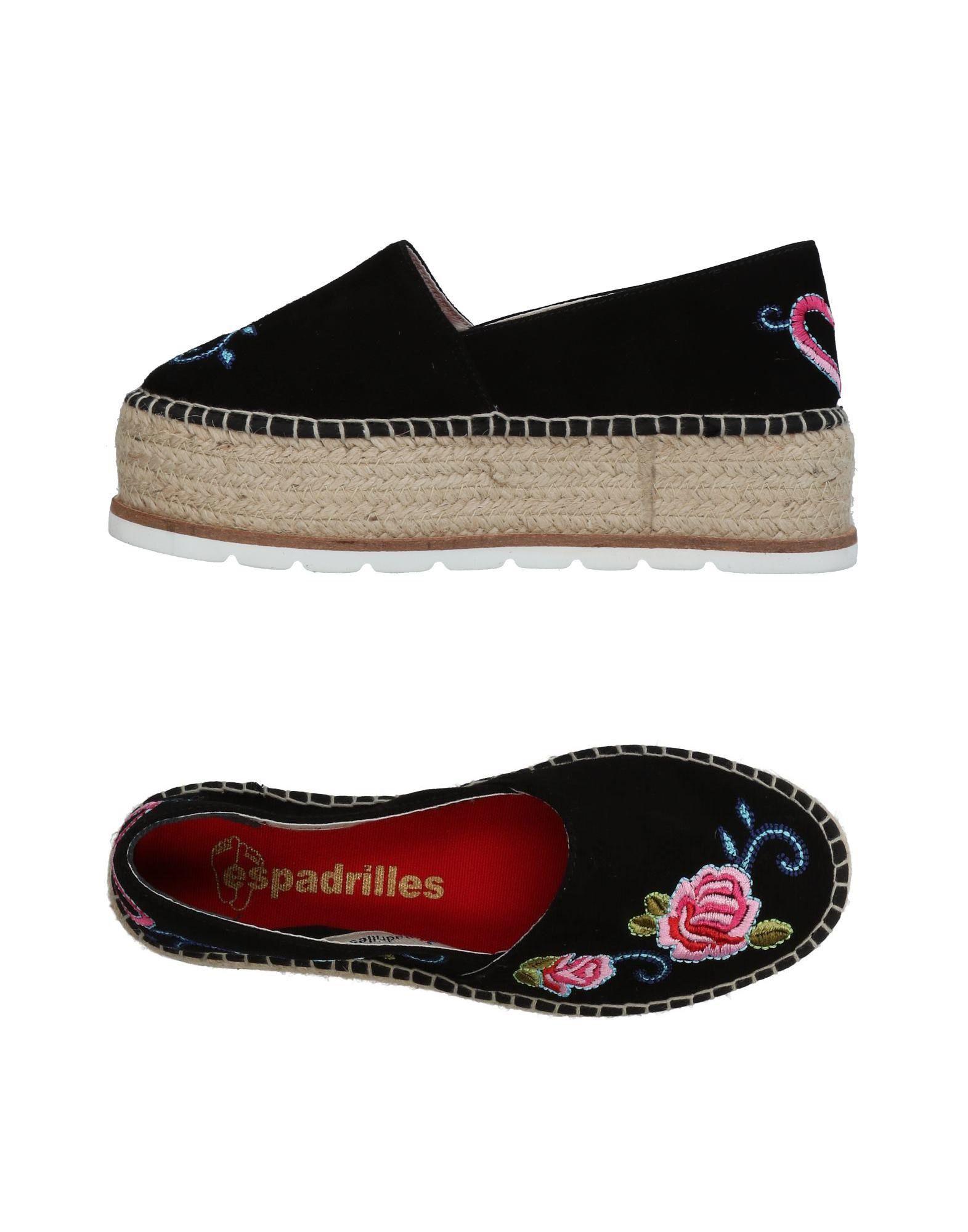 Espadrilles Espadrilles Damen  11424504BQ Gute Qualität beliebte Schuhe
