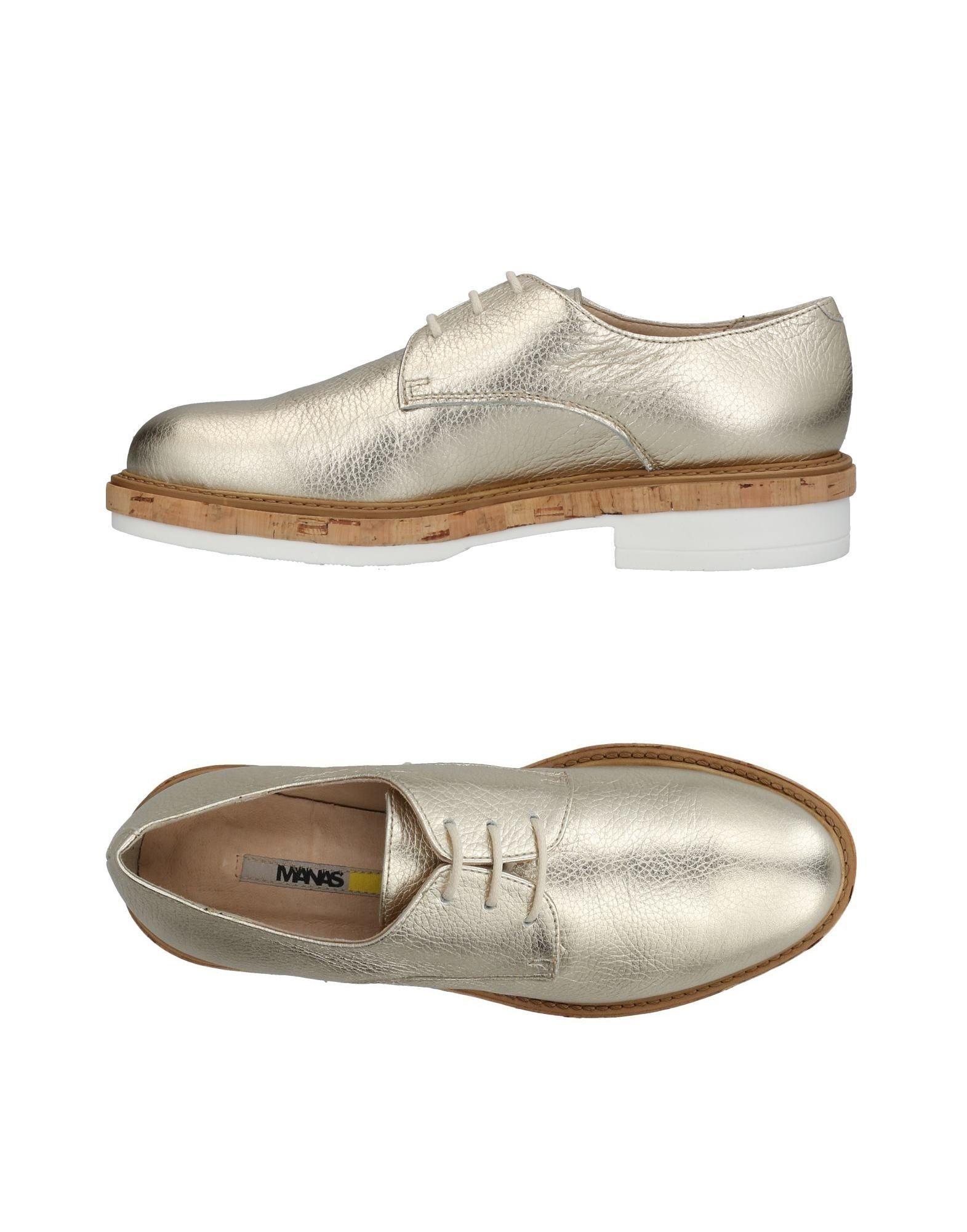 Günstige und modische Schuhe Manas Schnürschuhe Damen  11424533DO