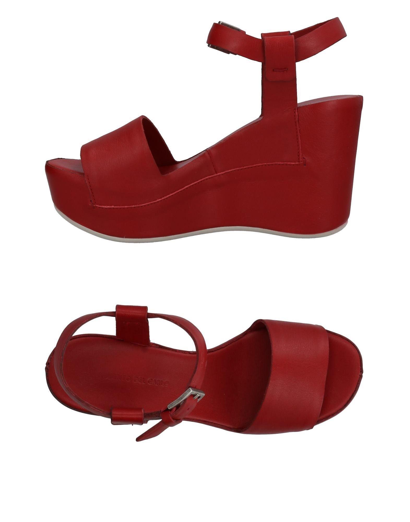 Gut um billige Schuhe zu tragenRoberto Del Carlo Sandalen Damen  11424618BL