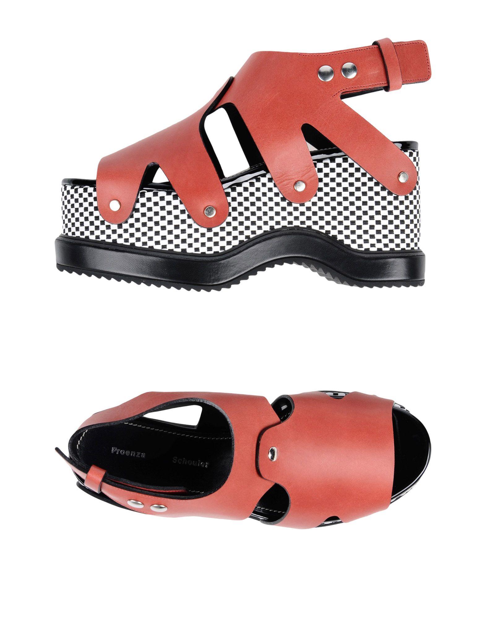 Proenza Schouler Sandalen Damen  11424678NQ Beliebte Schuhe