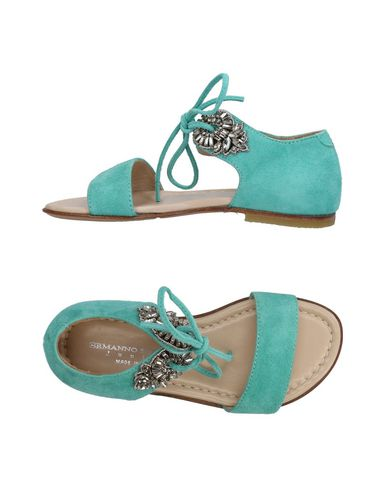 ERMANNO SCERVINO JUNIOR Sandals in Light Green