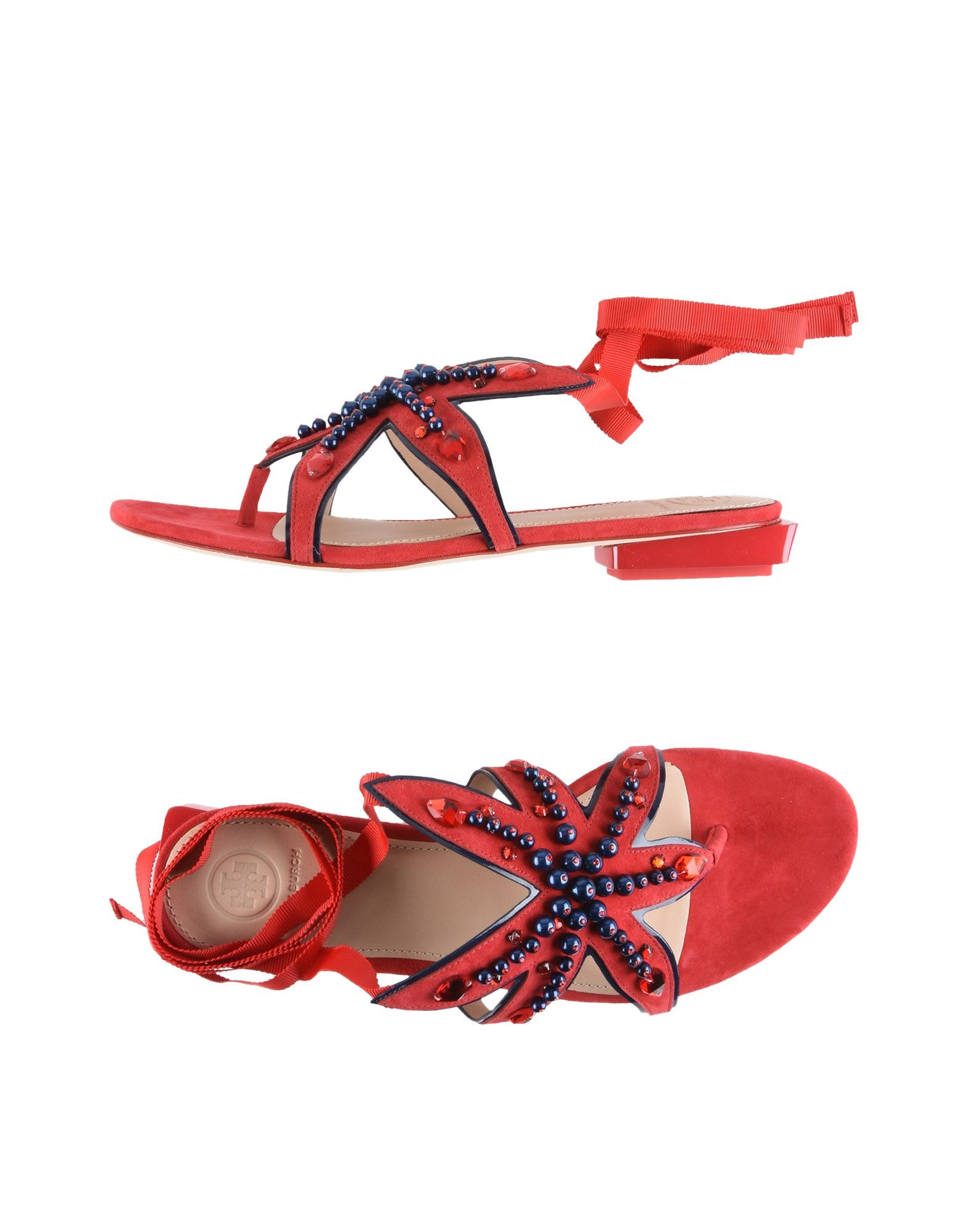 Tory Burch Dianetten Damen  11425442OMGut aussehende strapazierfähige Schuhe