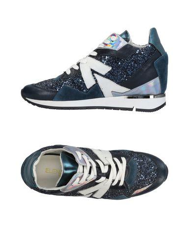 Los últimos zapatos de hombre y mujer Zapatillas Ela Iachi Mujer - Zapatillas Ela Iachi - 11425550TR Azul francés