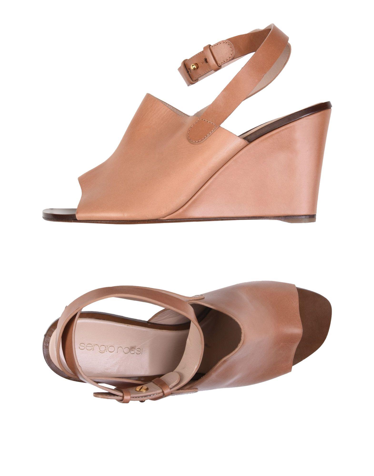 Sergio Rossi Sandalen Damen  11425626RLGut aussehende strapazierfähige Schuhe