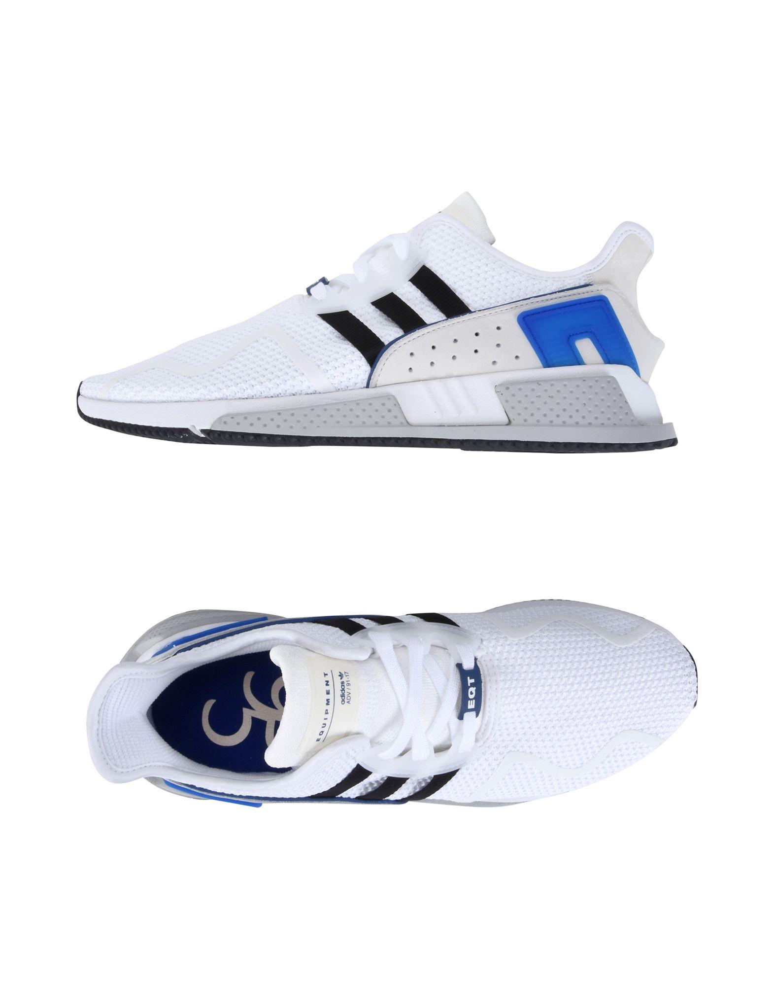 Baskets Adidas Originals Eqt Cushion Adv - Homme - Baskets Adidas Originals  Blanc Remise de marque